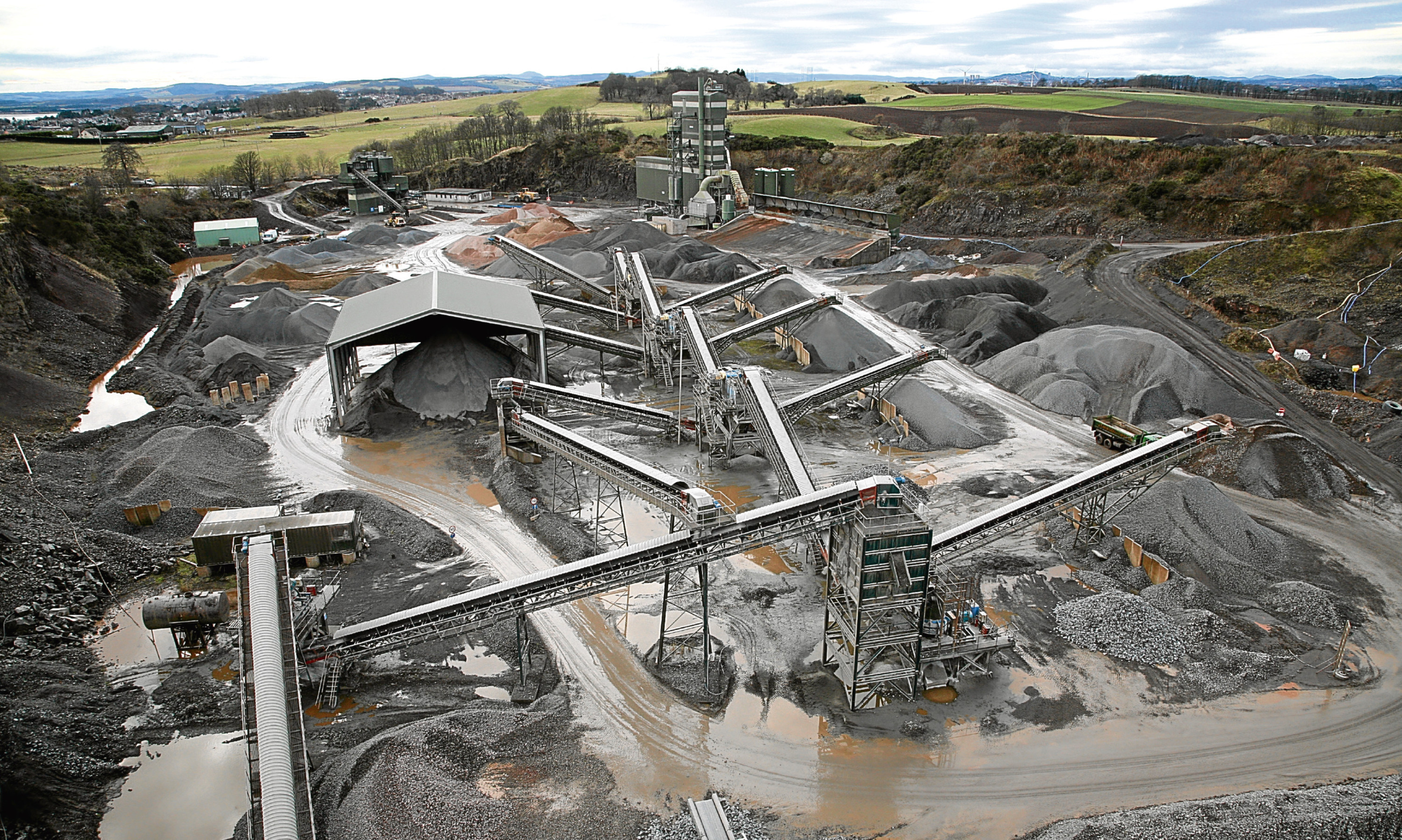 Breedon Northern's headquarters is based at Ethiebeaton quarry in Angus