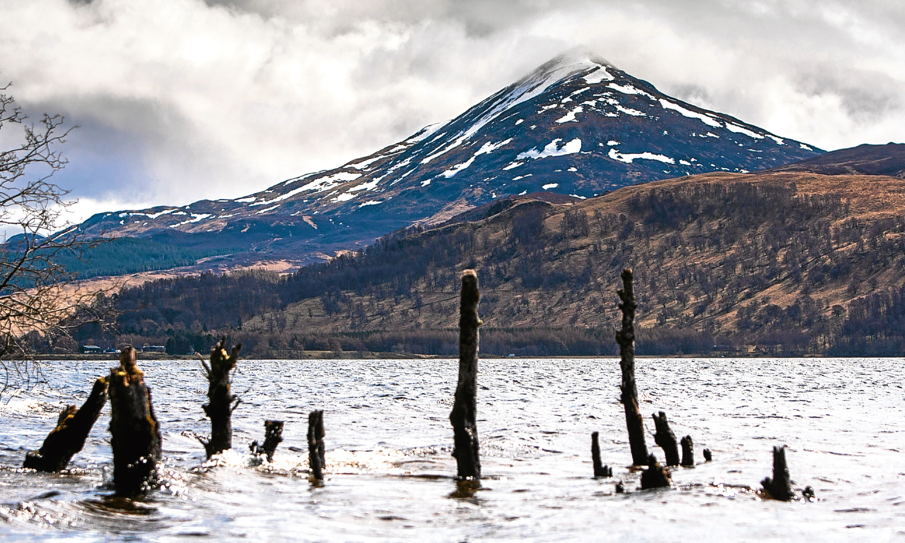 Loch Rannoch and Schiehallion.