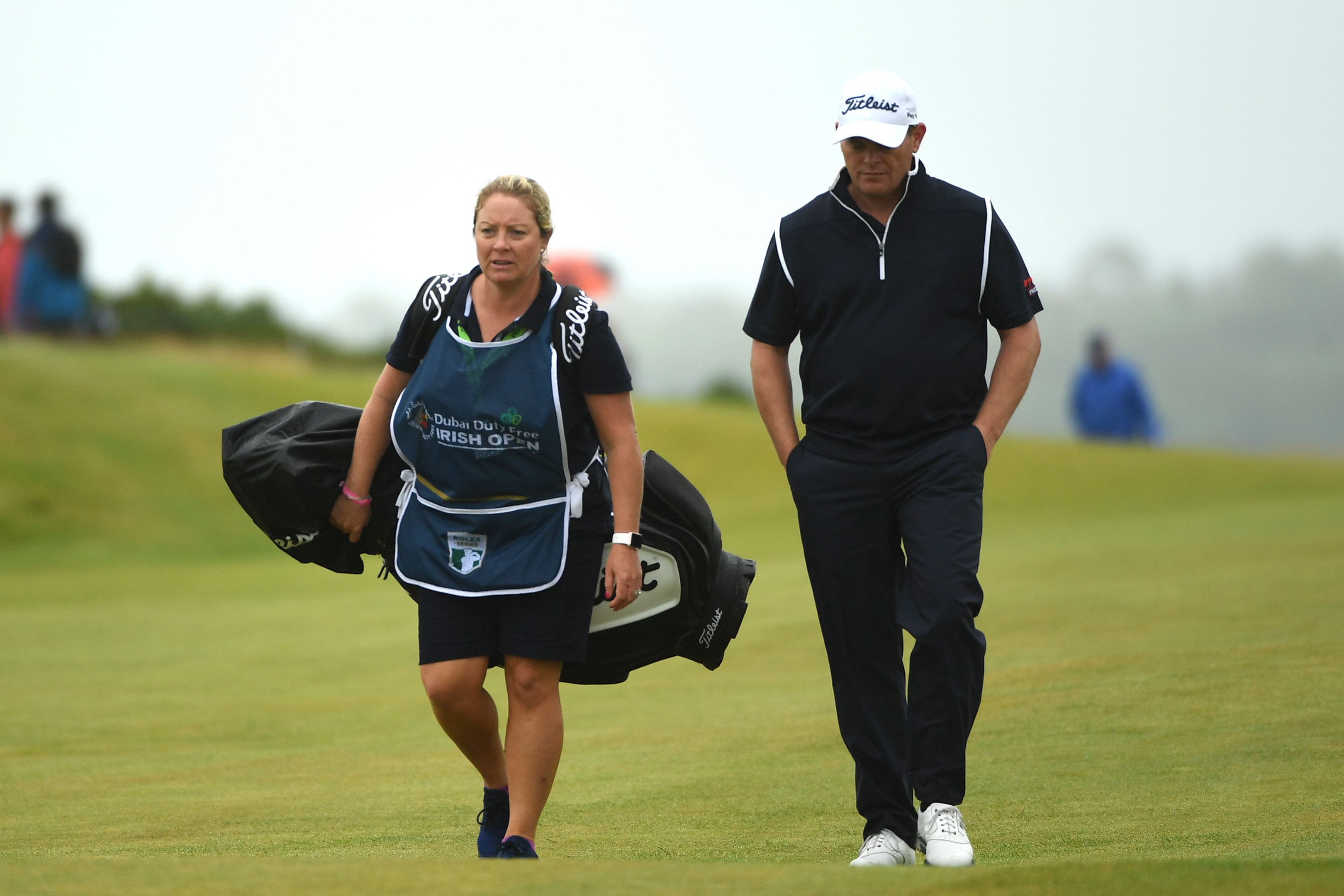 David Drysdale's wife Vicky has been a calming influence on the bag this season.