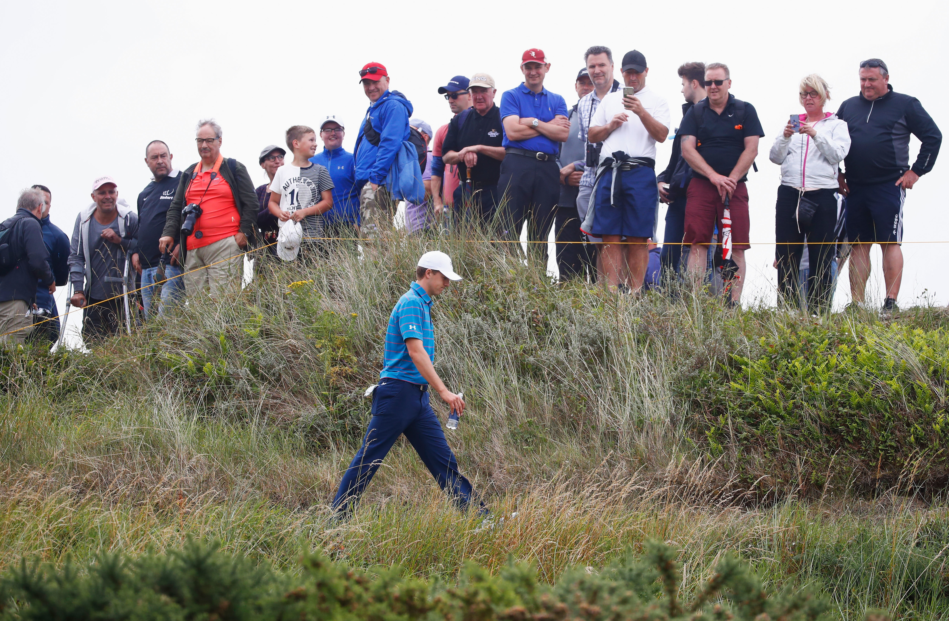 Jordan Spieth's playing profile fits Birkdale best out of the world's top players.