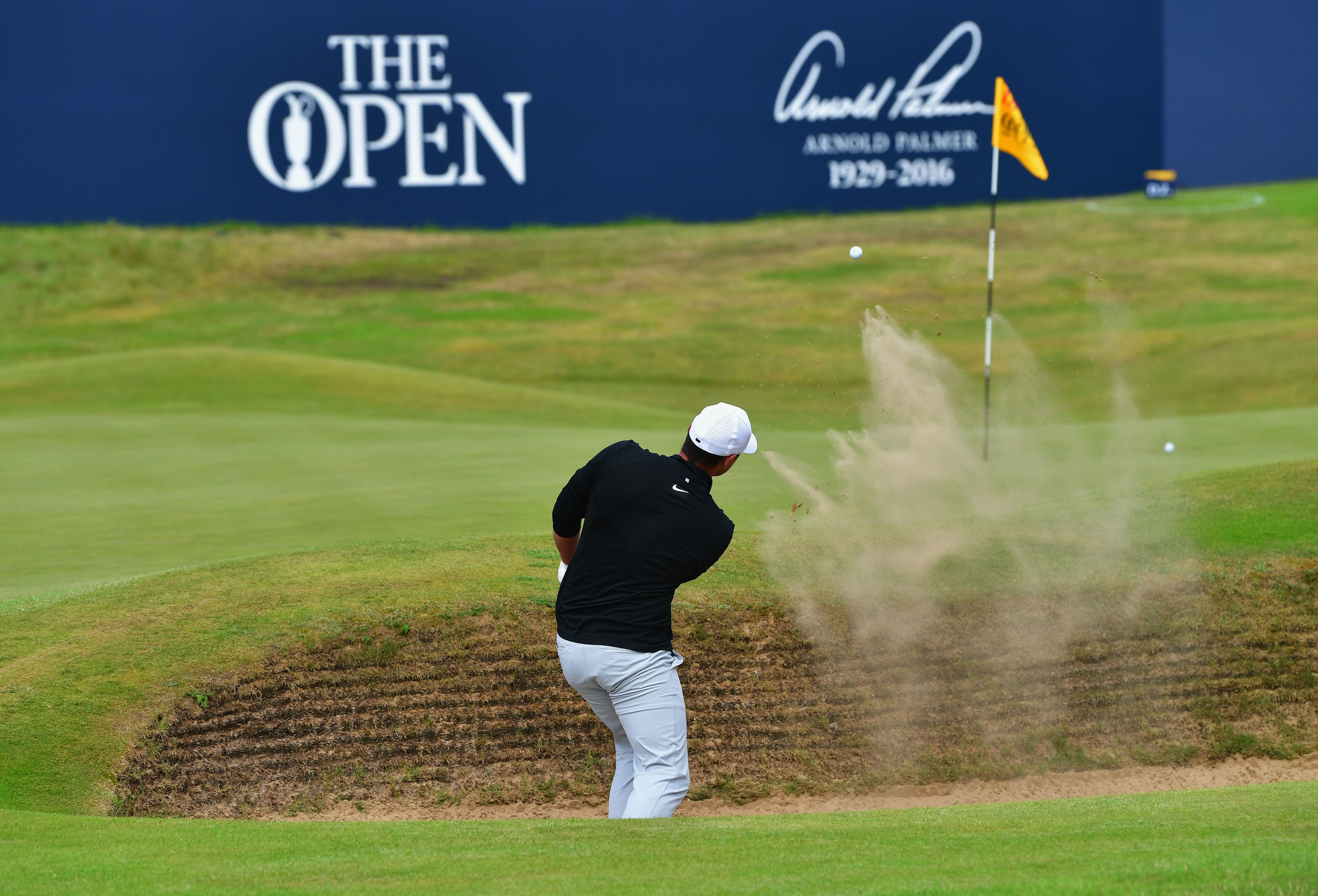 Brooks Koepka continued the red hot form from his US Open win at Royal Birkdale.