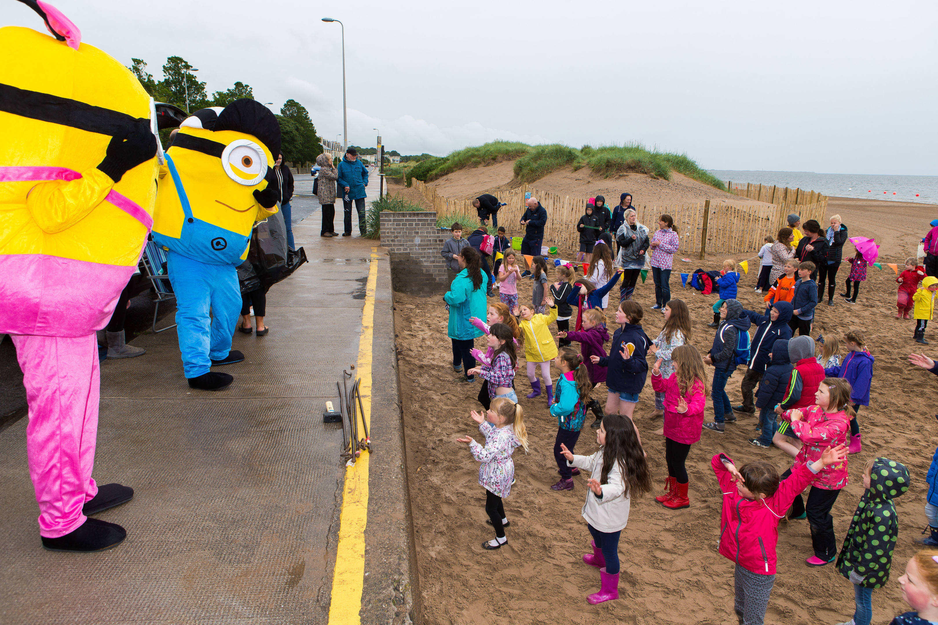 Family fun at Broughty ferry Gala Week.