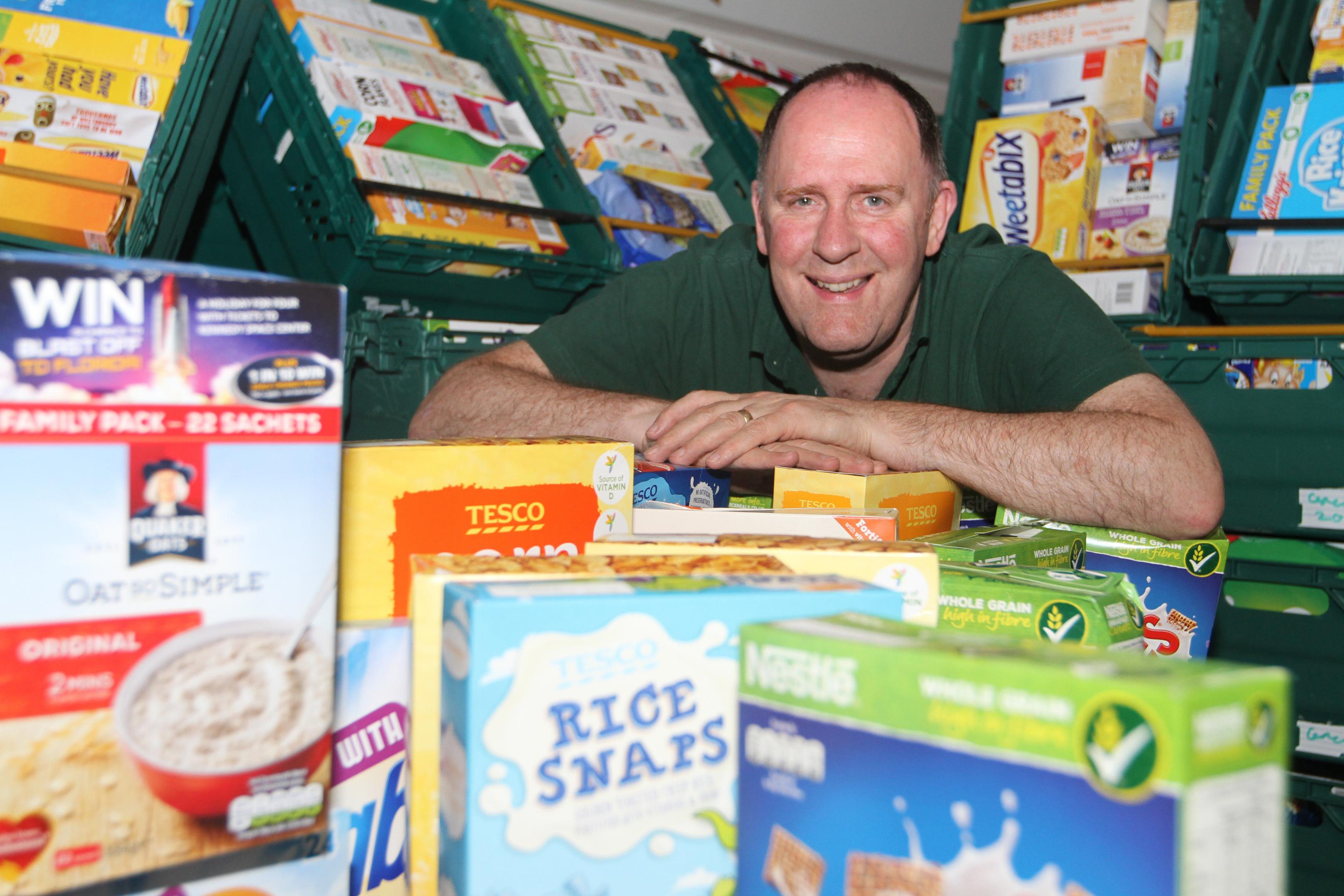 Dundee Foodbank manager Ken Linton.
