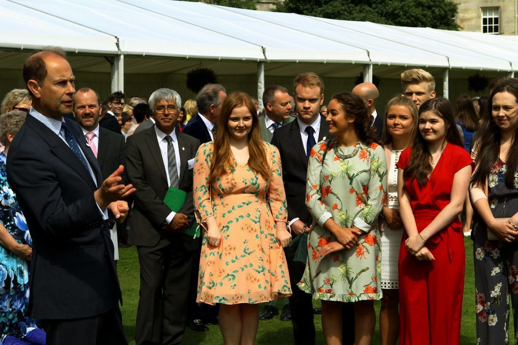 The Duke of Edinburgh Gold Award presentations