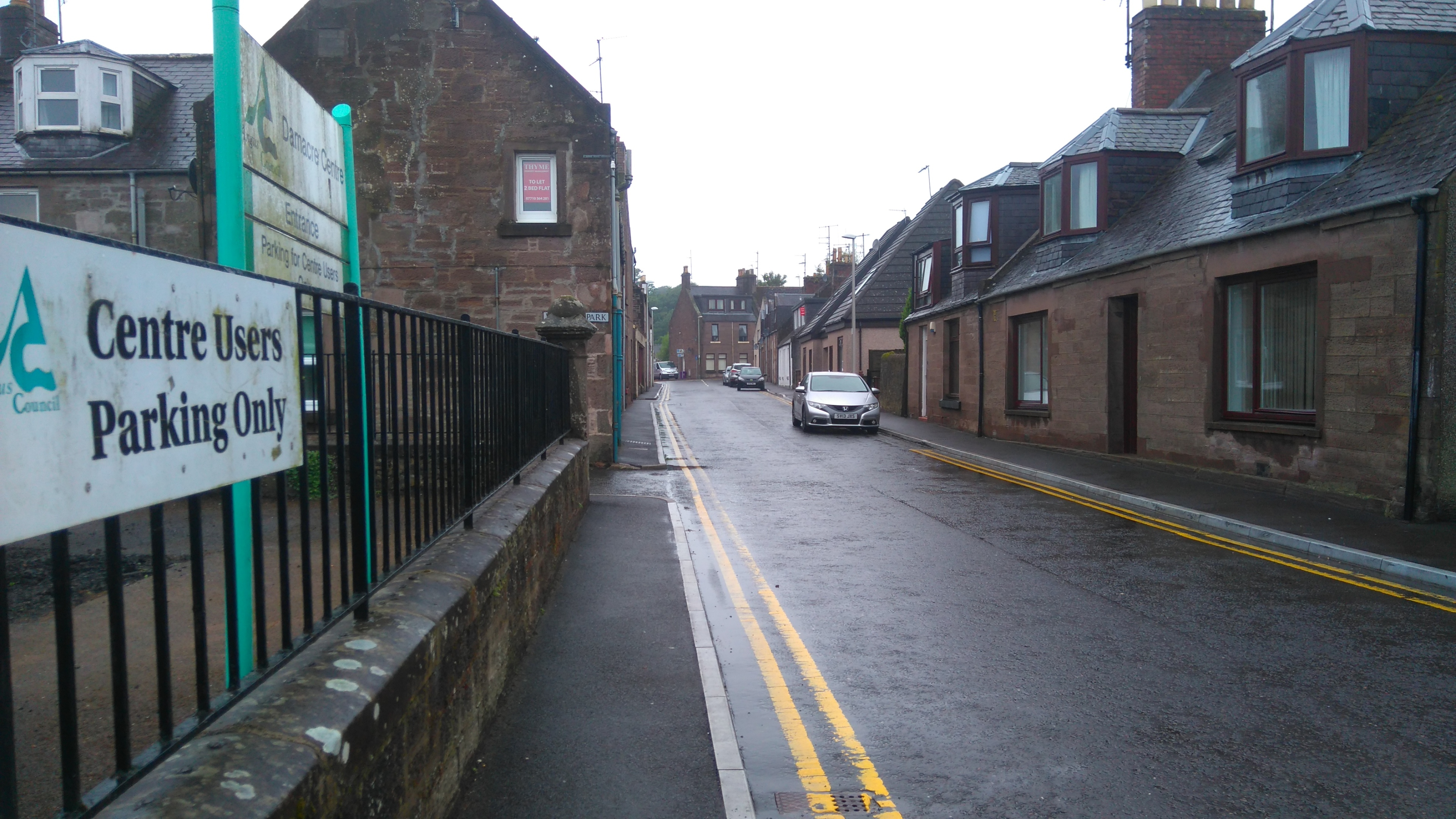Damacre Road, Brechin