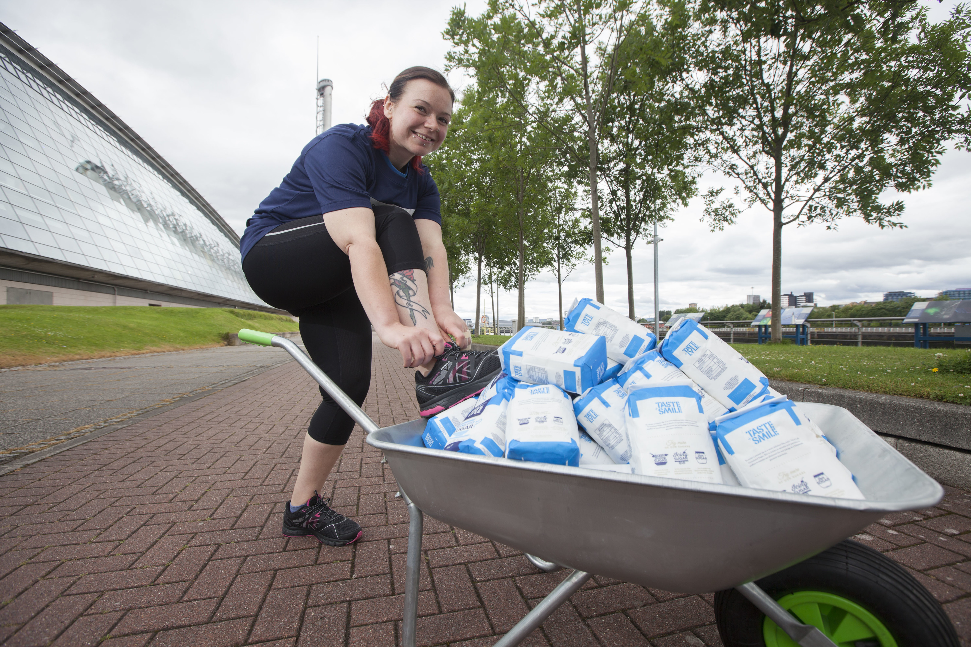 Rhiannon Meyer-Turner lost the equivalent of 126 bags of sugar.