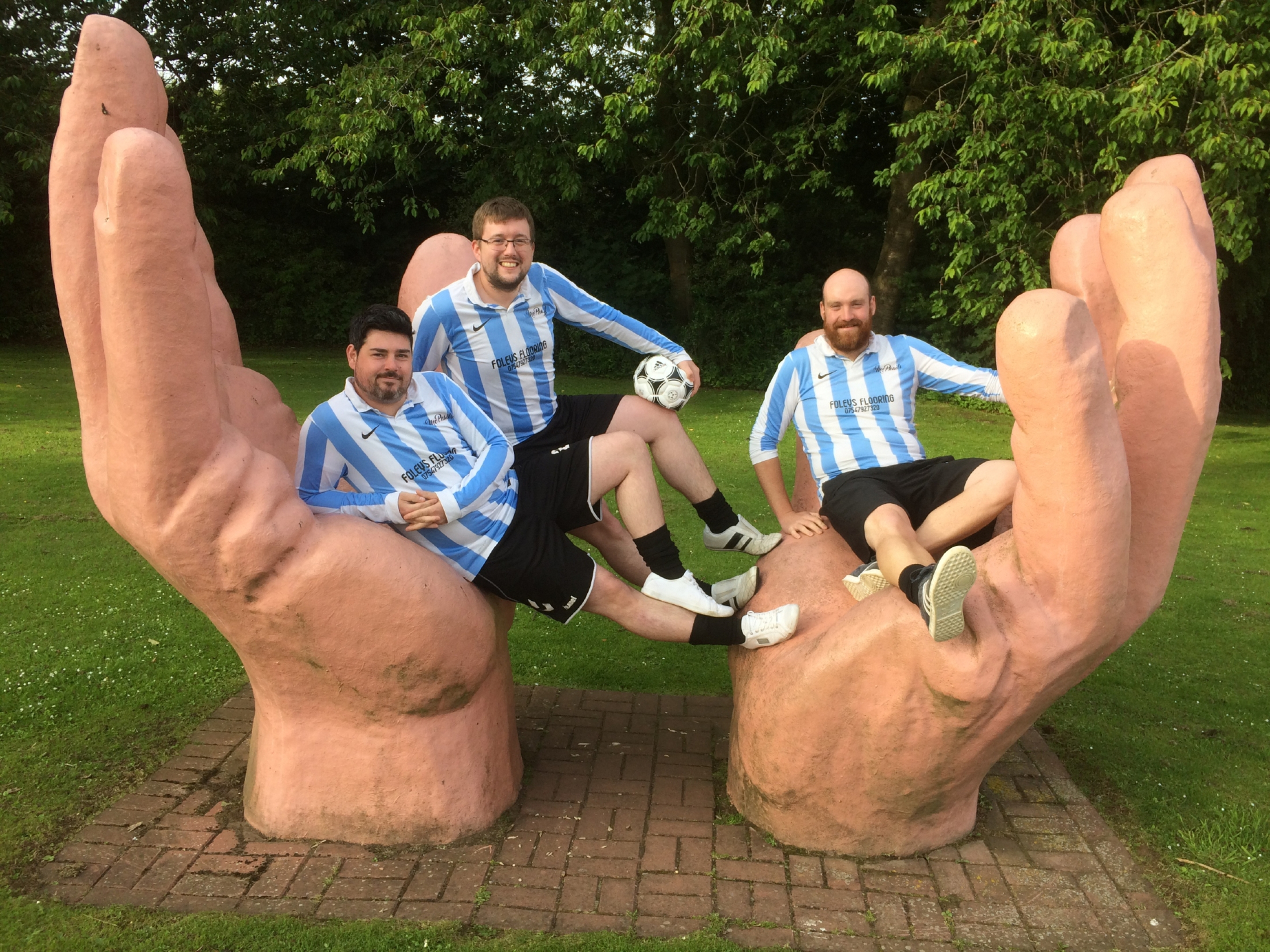 """Colin Mercer, Dave Alexander & Christopher Donnelly will lace up their boots once again as """"The Unwinnables"""" return to action in a charity game this weekend."""