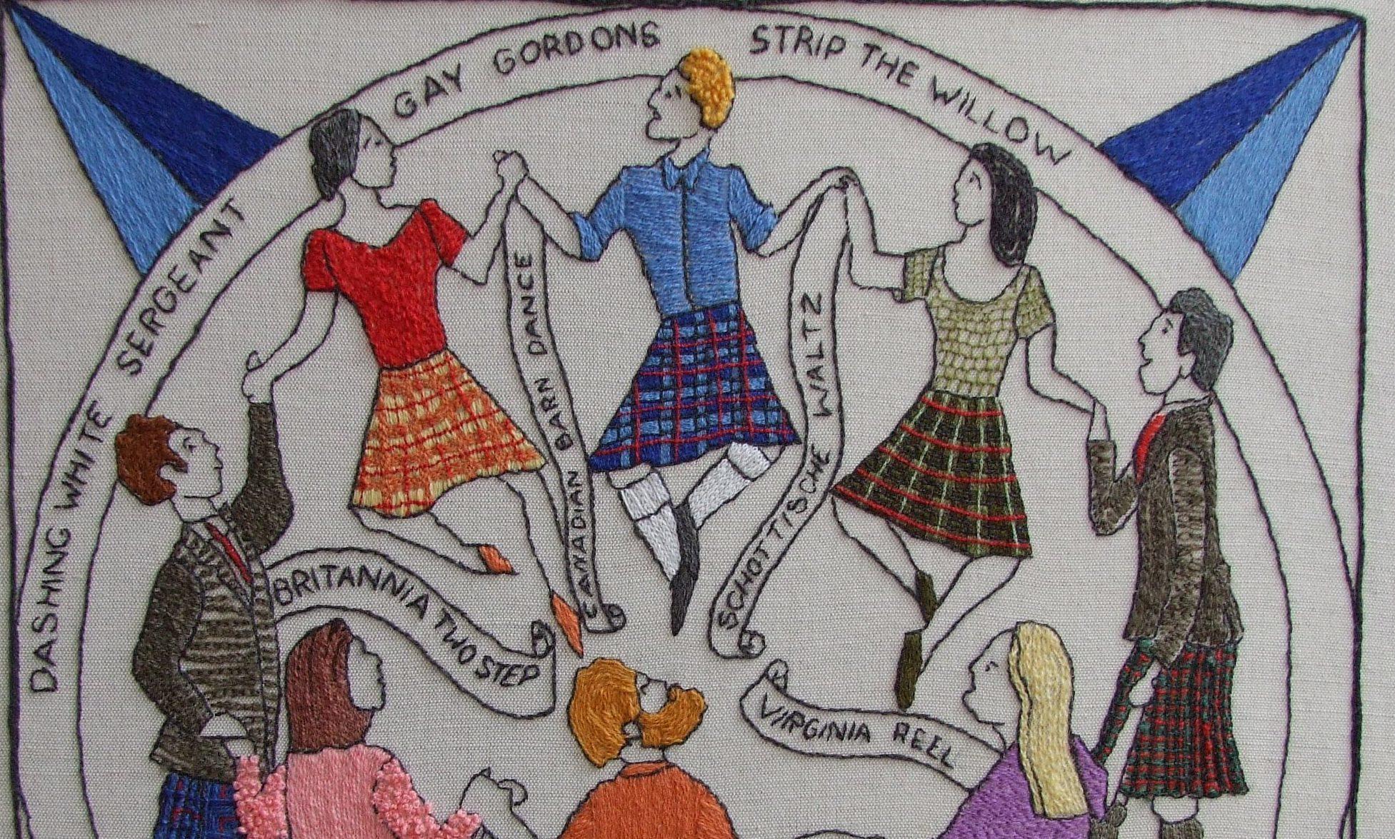 Part of the Scottish Diaspora Tapestry