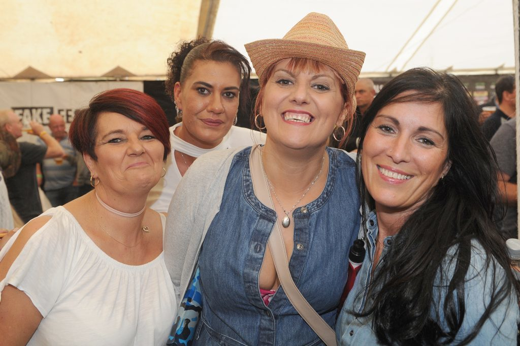 Jane Moncur, Amanda Gearie, Yvette Hunt and Louise Davidson, Fake Fest.