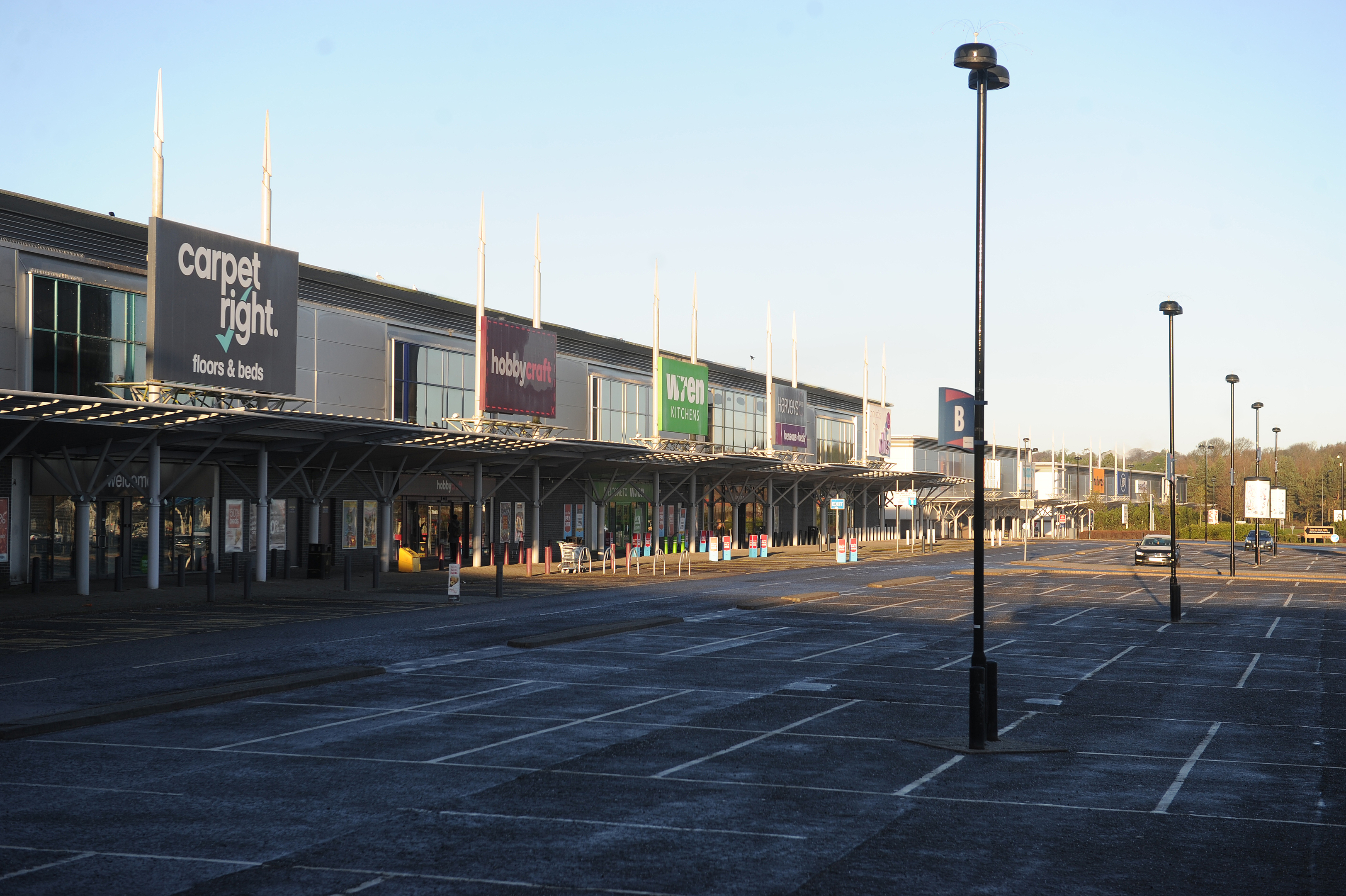 Kingsway West Retail Park is home to an empty unit with a rateable value of £409,000