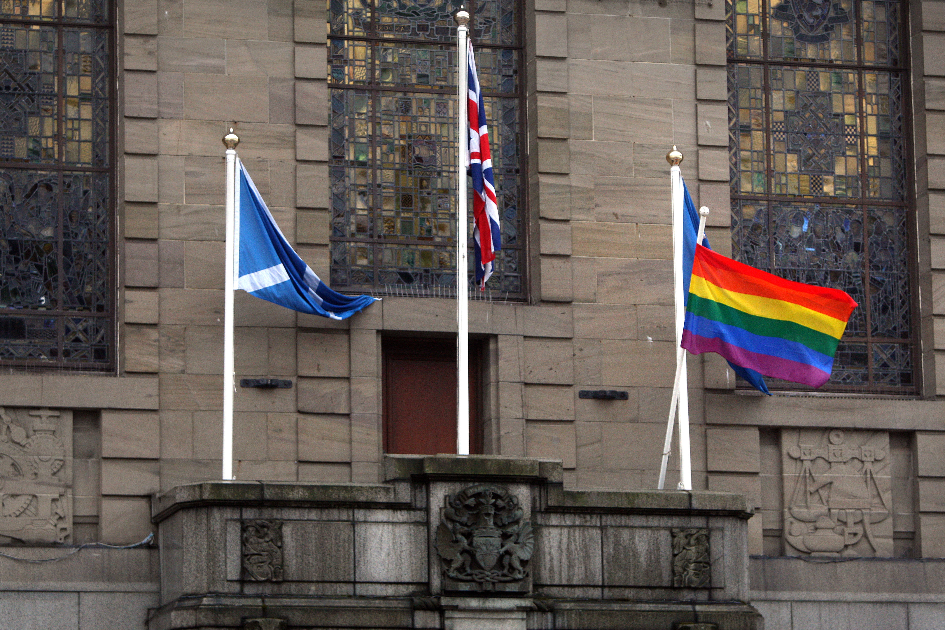 Dundee has seen a rise in reported homophobic crime.