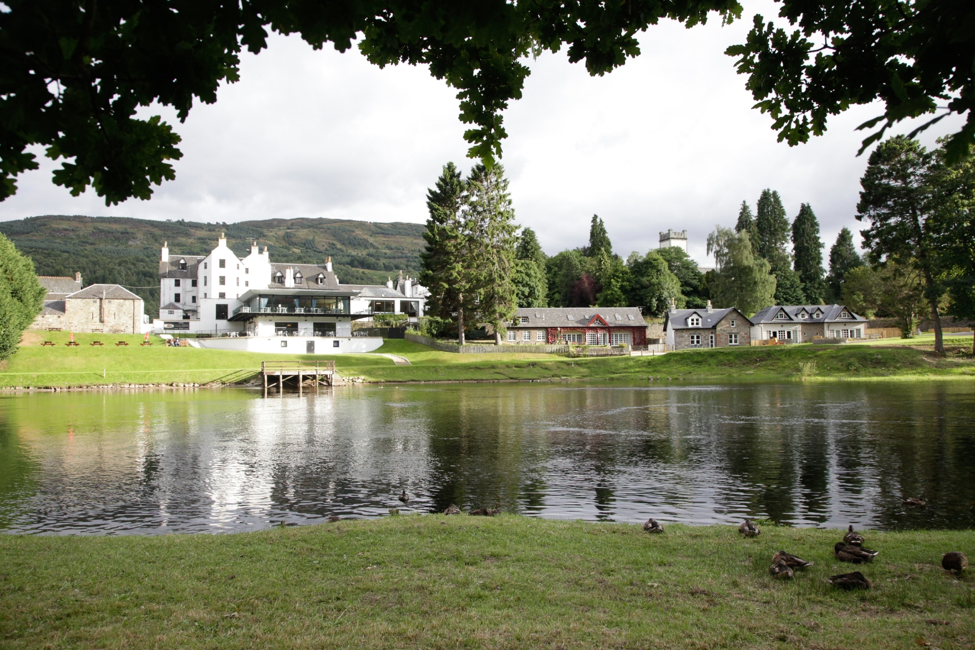 Kenmore Lodges - simply stunning.