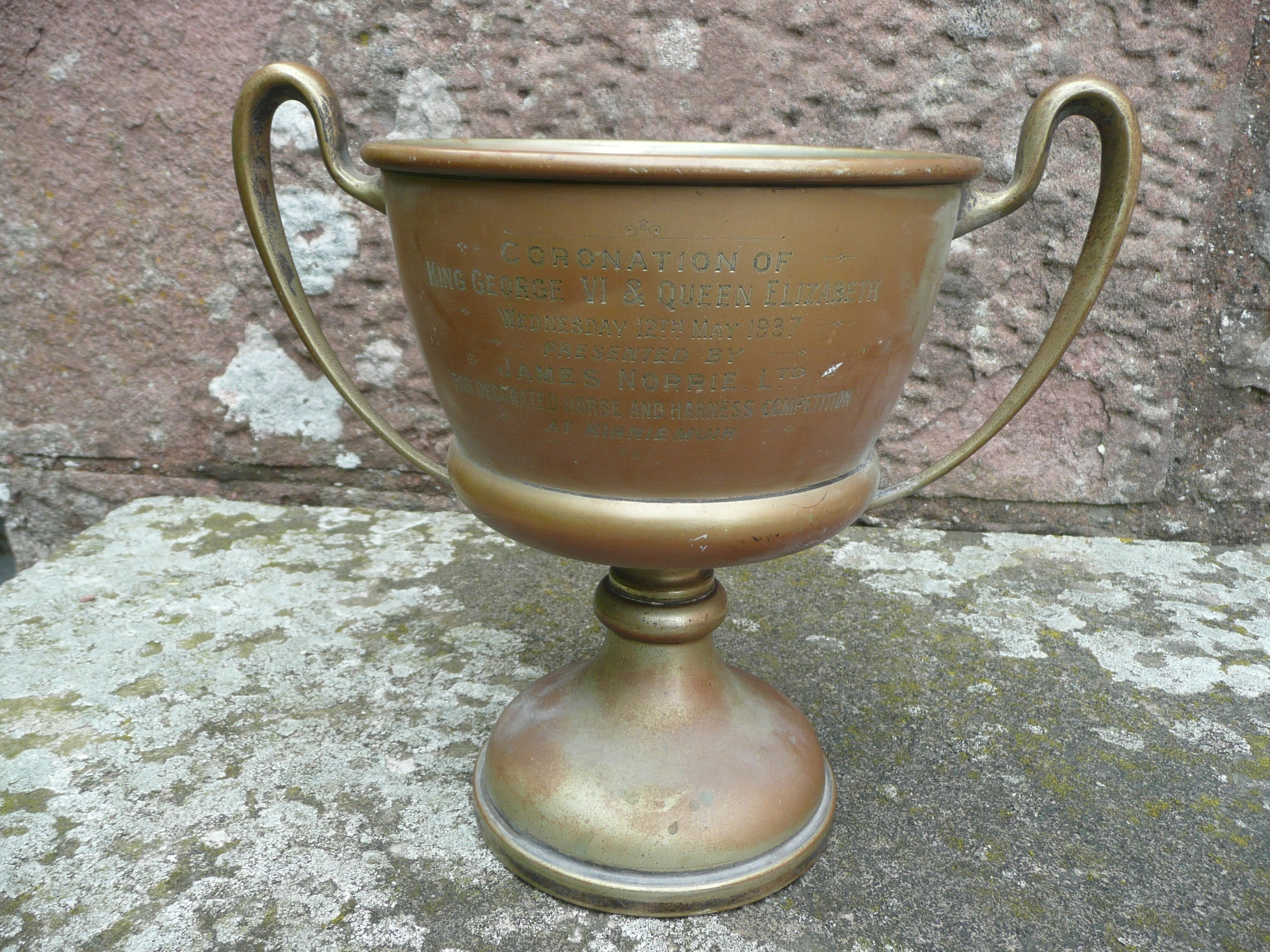 The 80-year-old trophy