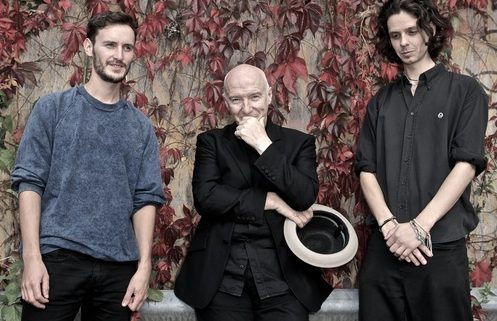 Midge Ure (centre) with the India Electric Company