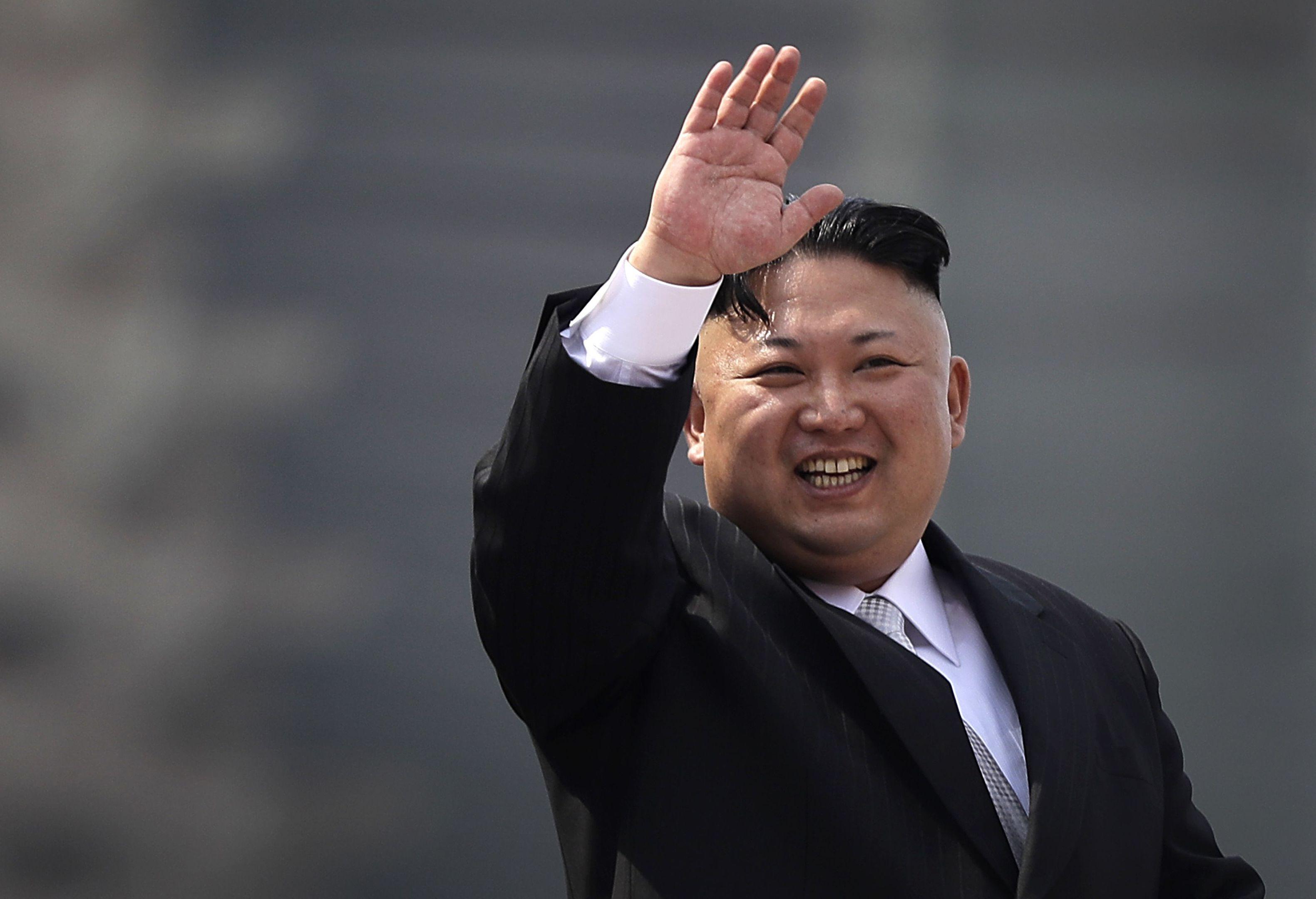 Malcontent: Kim Jong-un.