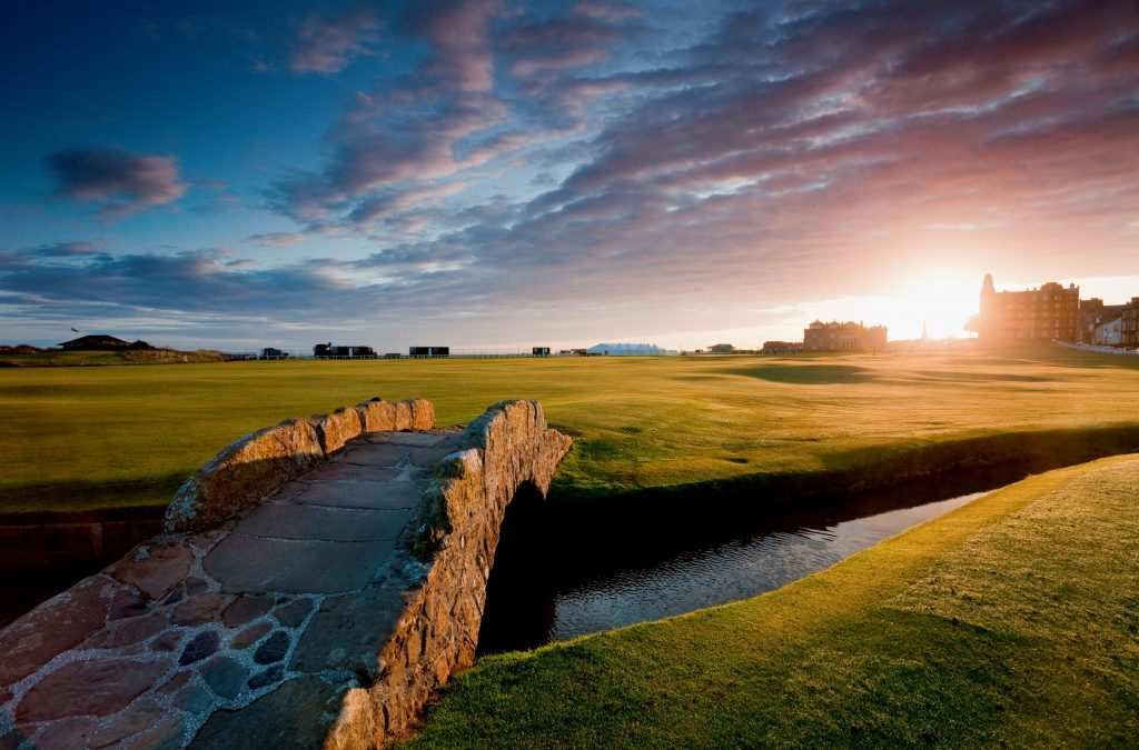 Use of the real Old Course was ruled out by the producers of Tommys Honour