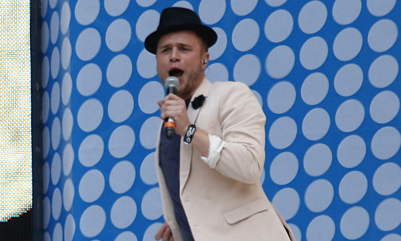 Olly might be advised to wear a hat when he visits Dundee this week.