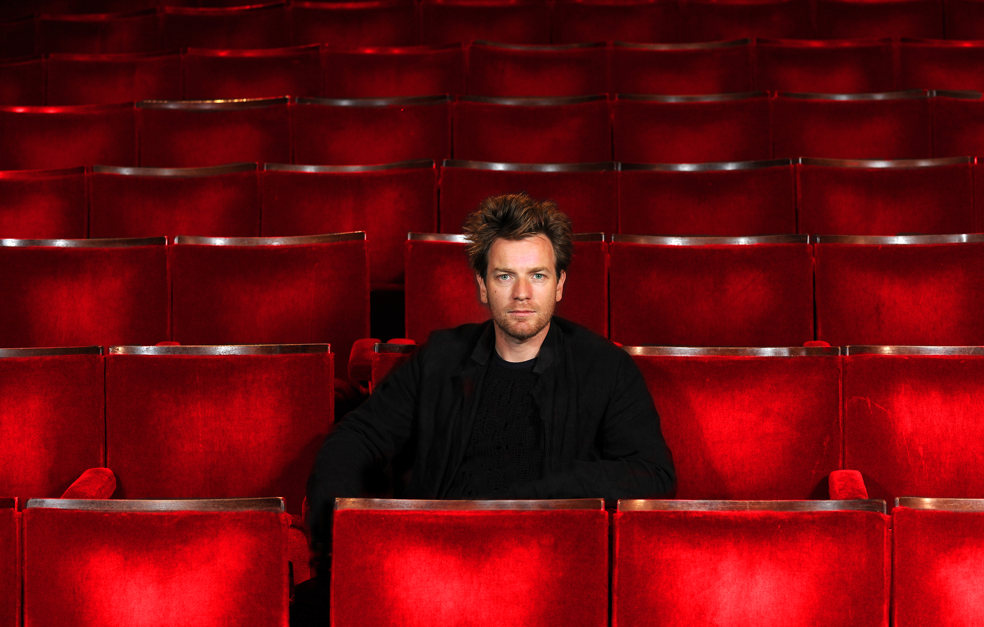 Ewan McGregor at Perth Theatre.