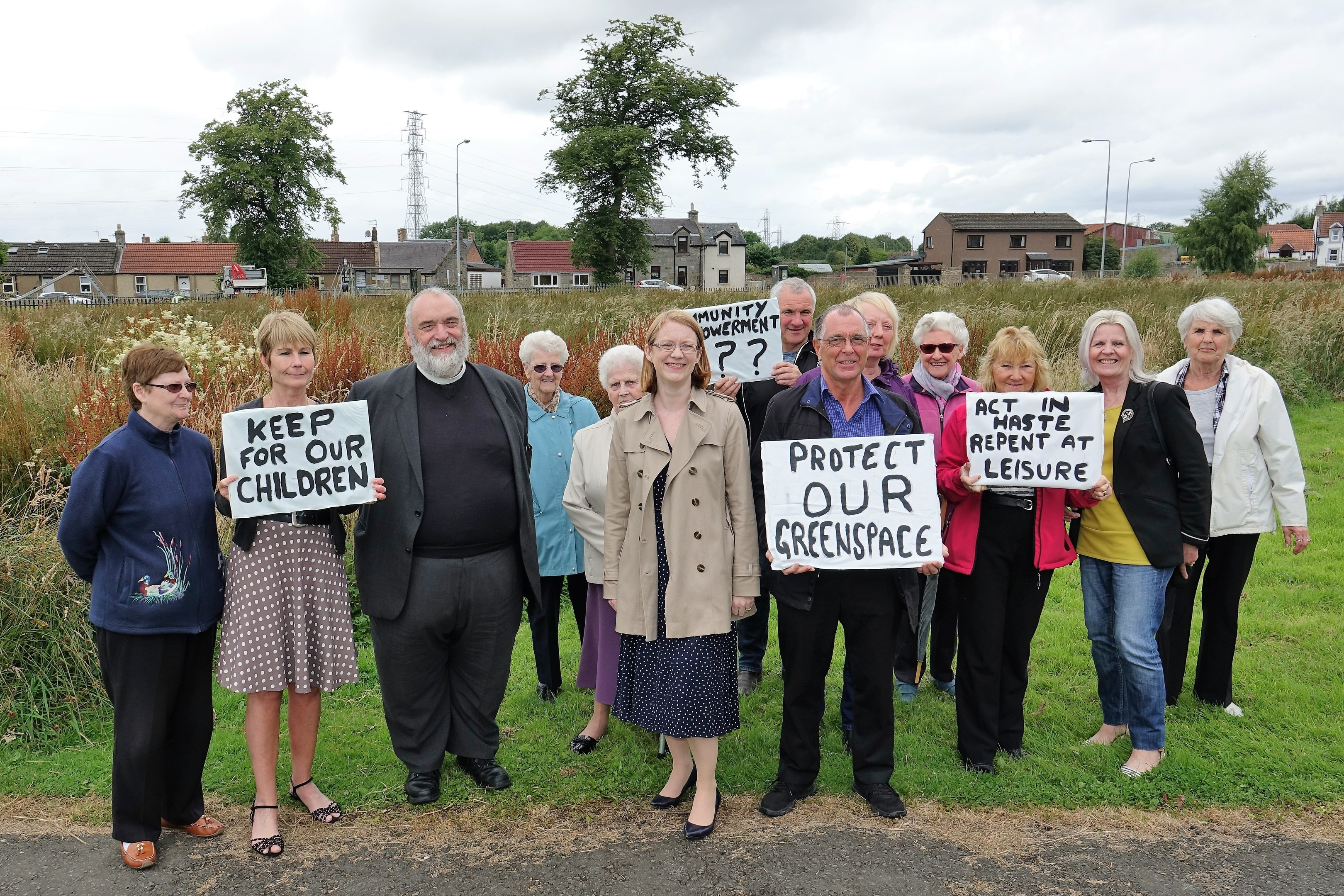 Members of the local community have been angered by Fife Council's plans.