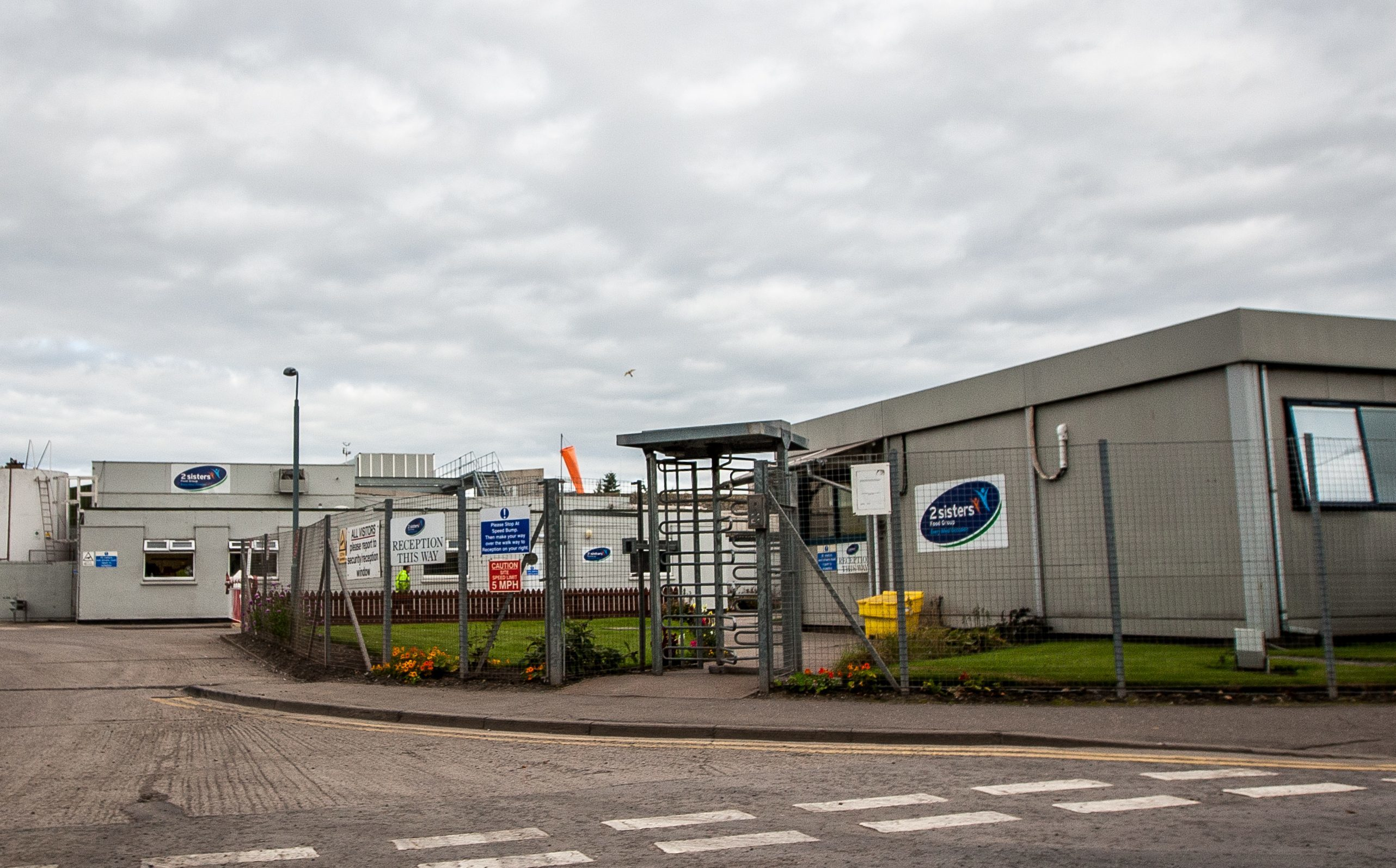 The  2 Sisters Group Chicken plant in Coupar Angus.