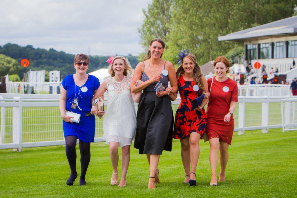 An Aberdeen hen party. Aimie Carrison, Lynette Watson, Amy Johnston (Bride to be), Elizabeth Welsh and Kim Clark.