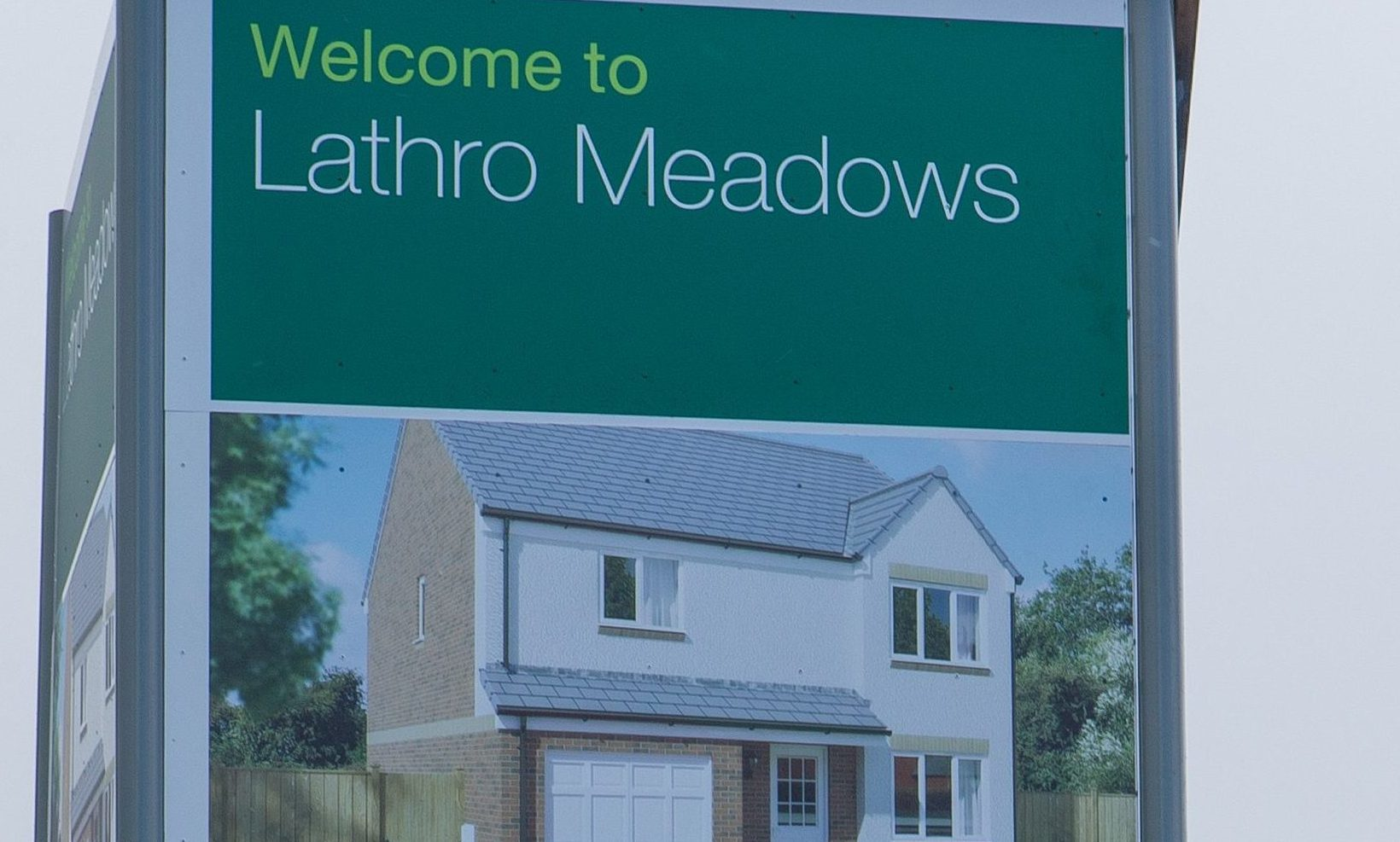 Issues have been raised at the Lathro development.