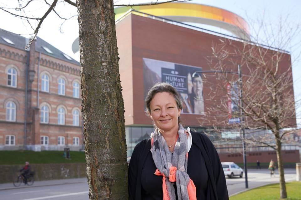 Theresa Blegvad in Aarhus.