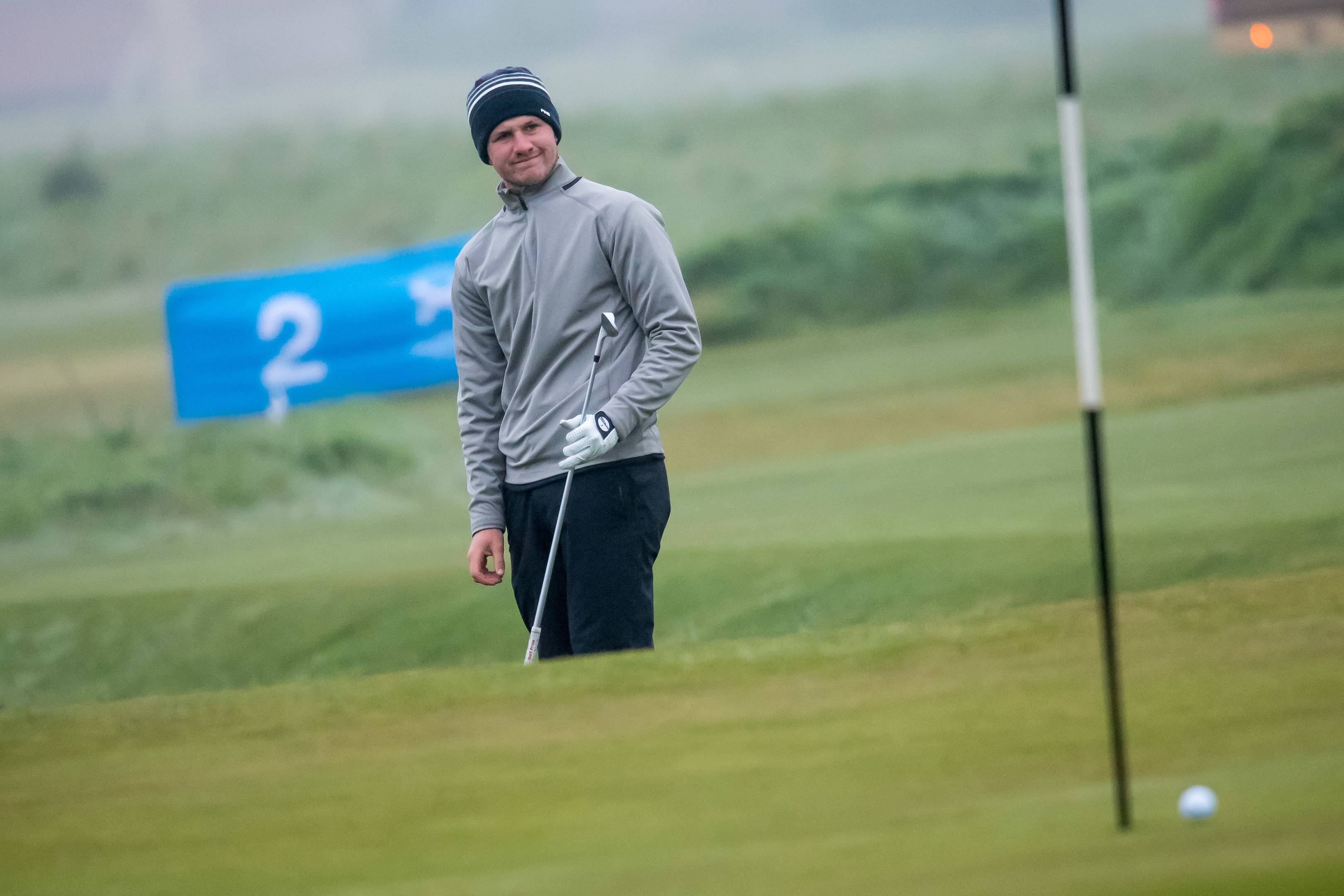 Drumoig's Connor Syme will make his Open debut at Royal Birkdale later this month.