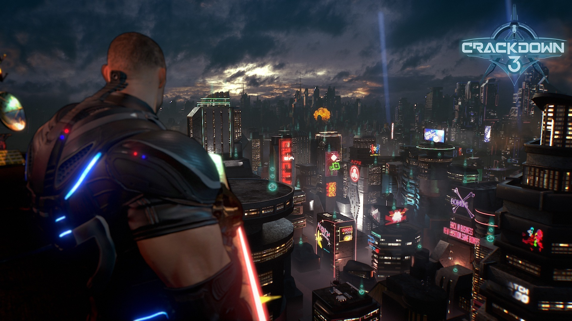 A screenshot from the new game.