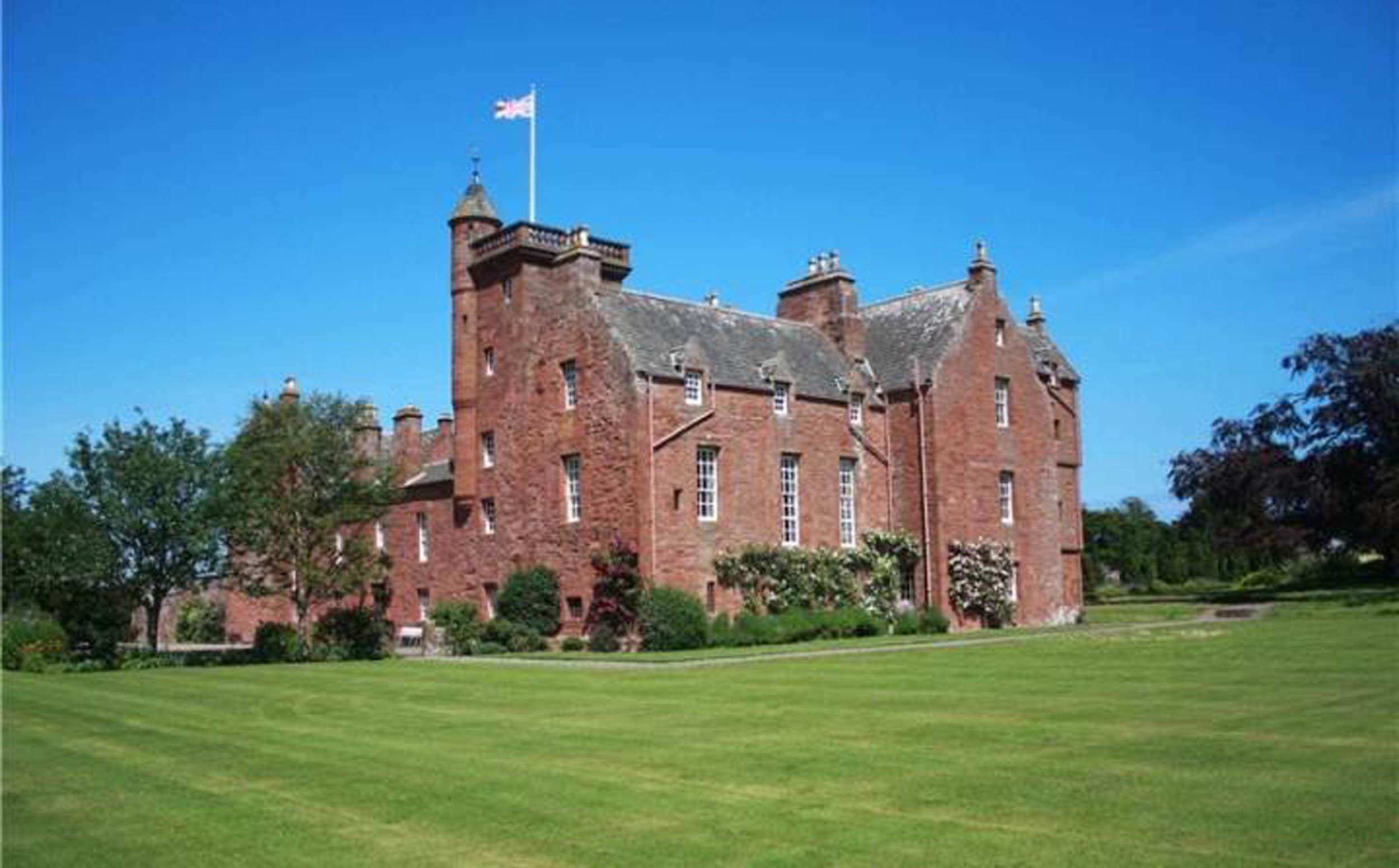 Ethie Castle.