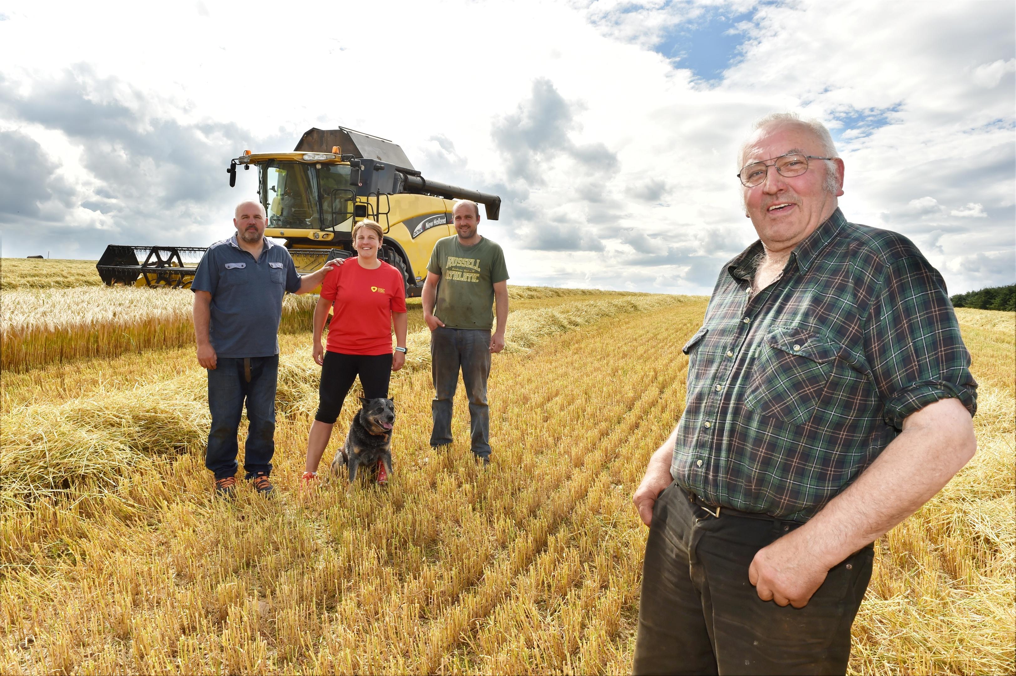Harvesting of winter barley is expected to begin in earnest next week