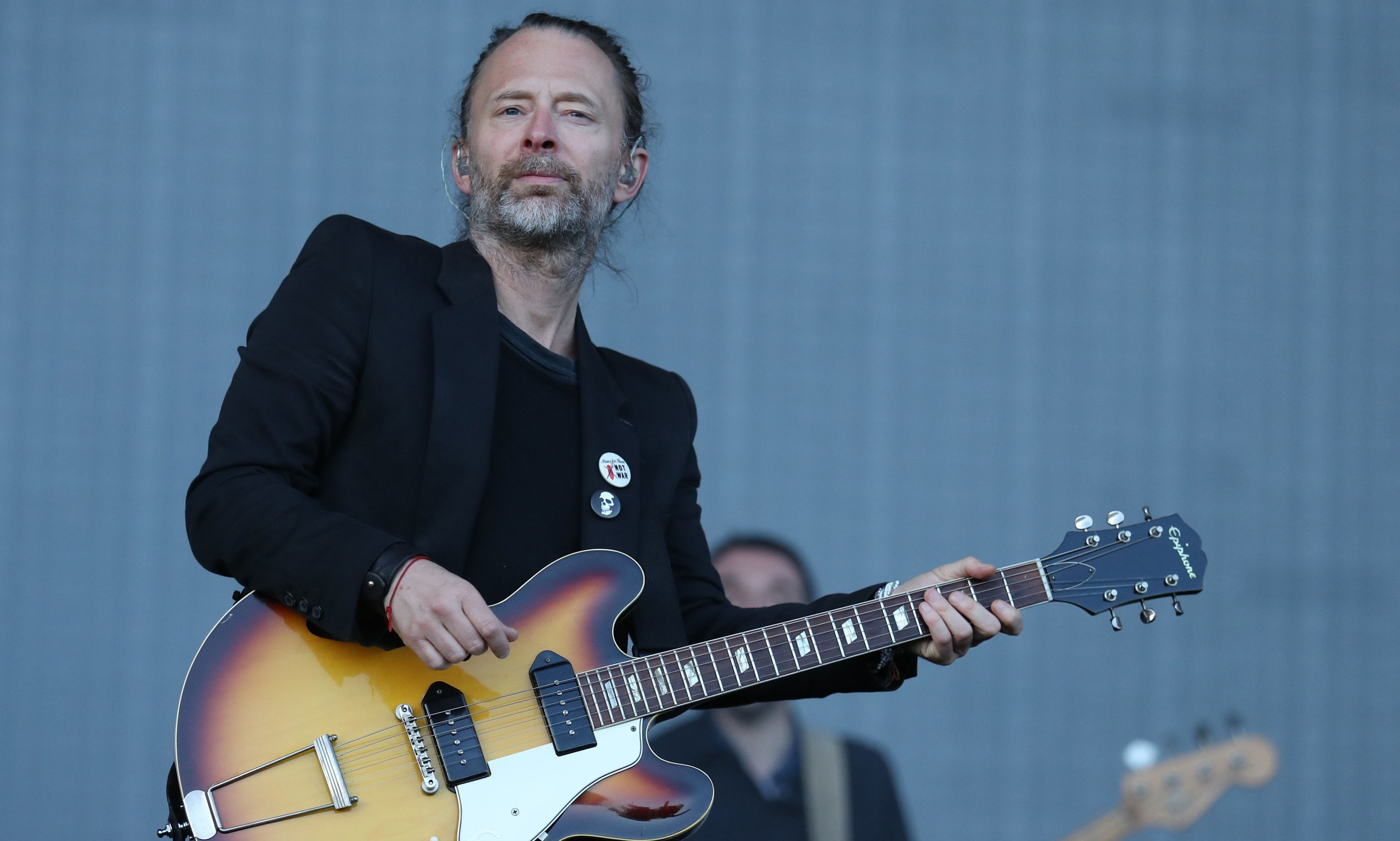 Radiohead perform at the first TRNSMT festival.