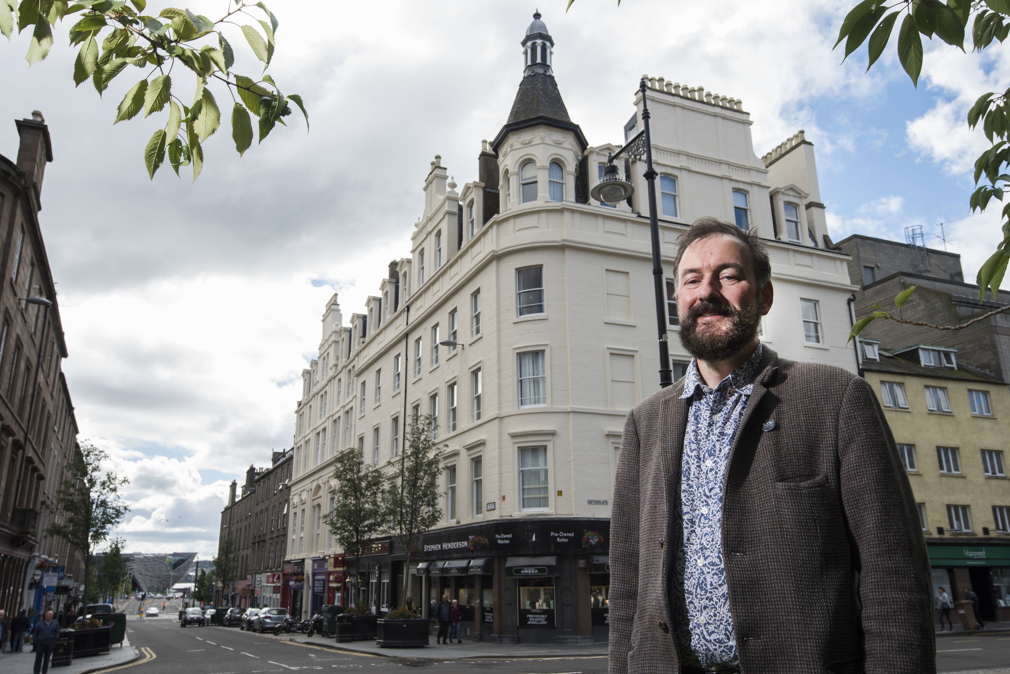 The trust has helped restore some of Dundee's most notable buildings.