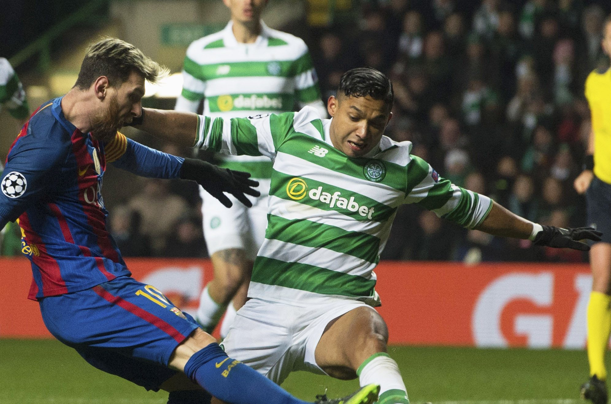 Lionel Messi could be back at Celtic Park in the near future.