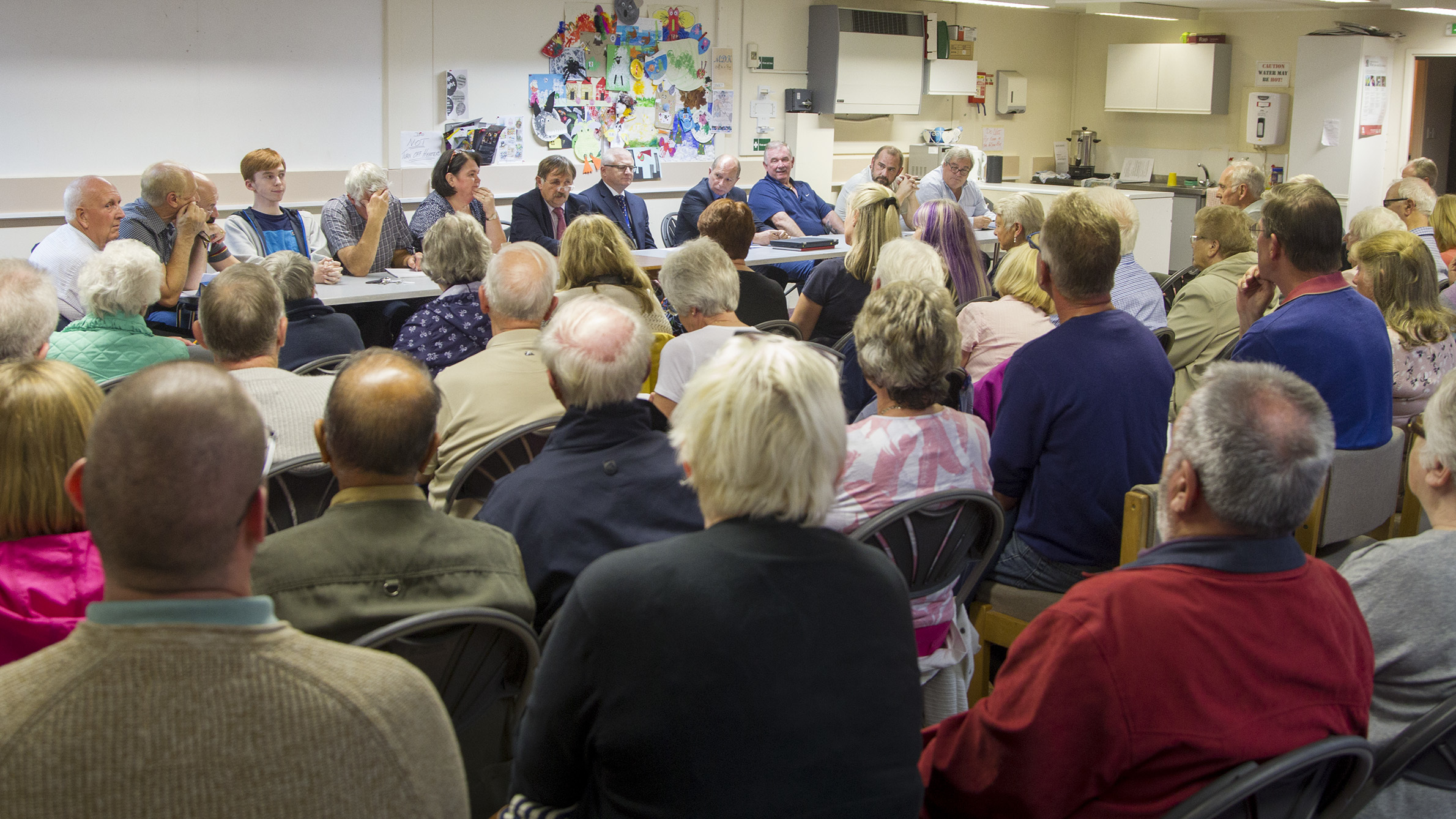 A Monifieth Community Council meeting to discuss the closure threat attracted a large audience.