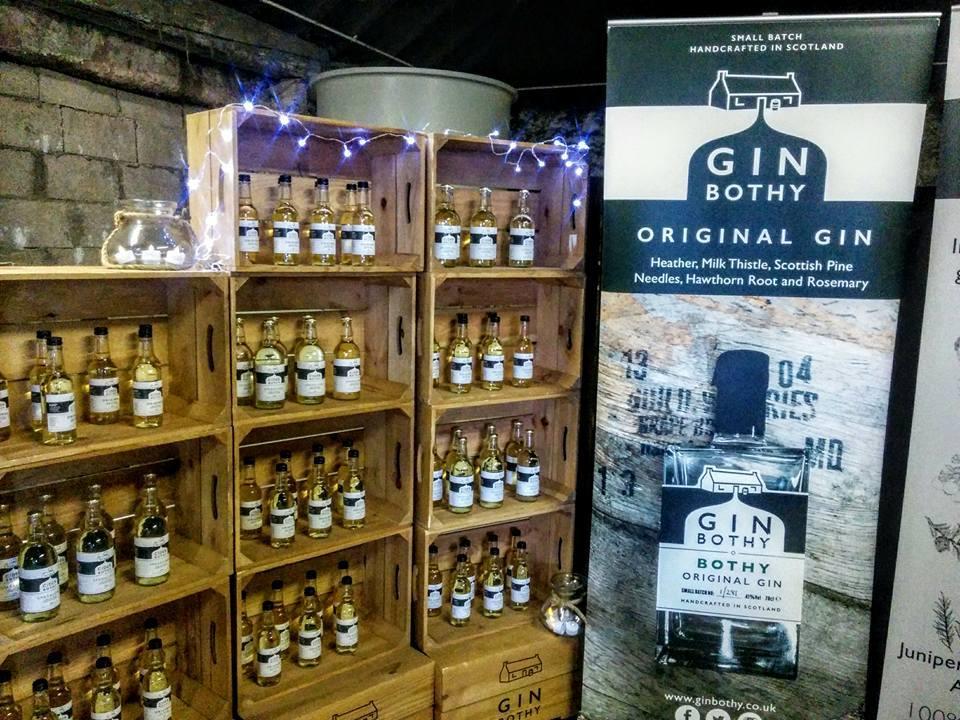 Last year Gin Bothy were the recipients of a 2016 Triple Great Taste Award for their Gunshot Gin.