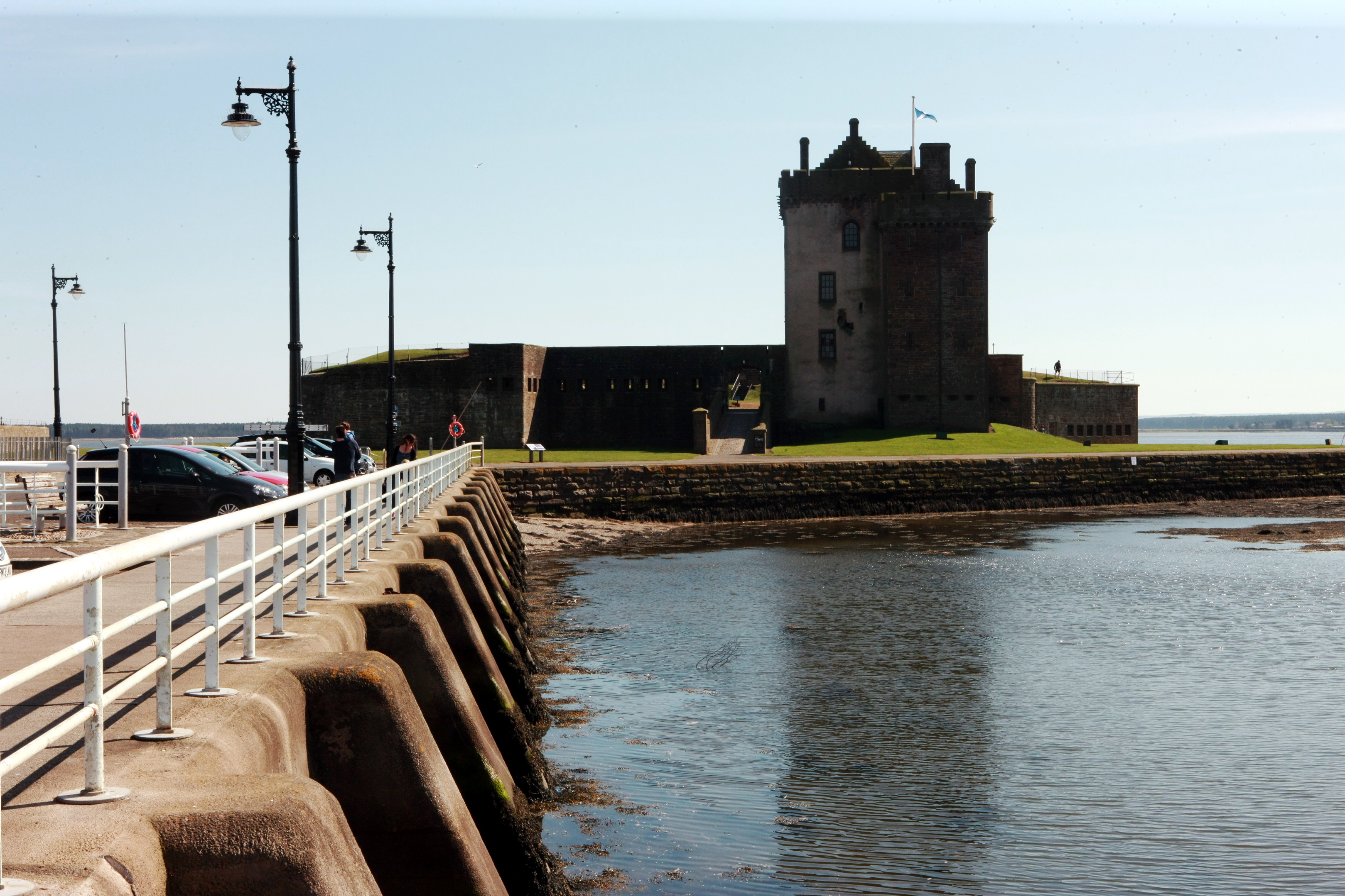 Broughty Ferry is a popular destination for visitors.