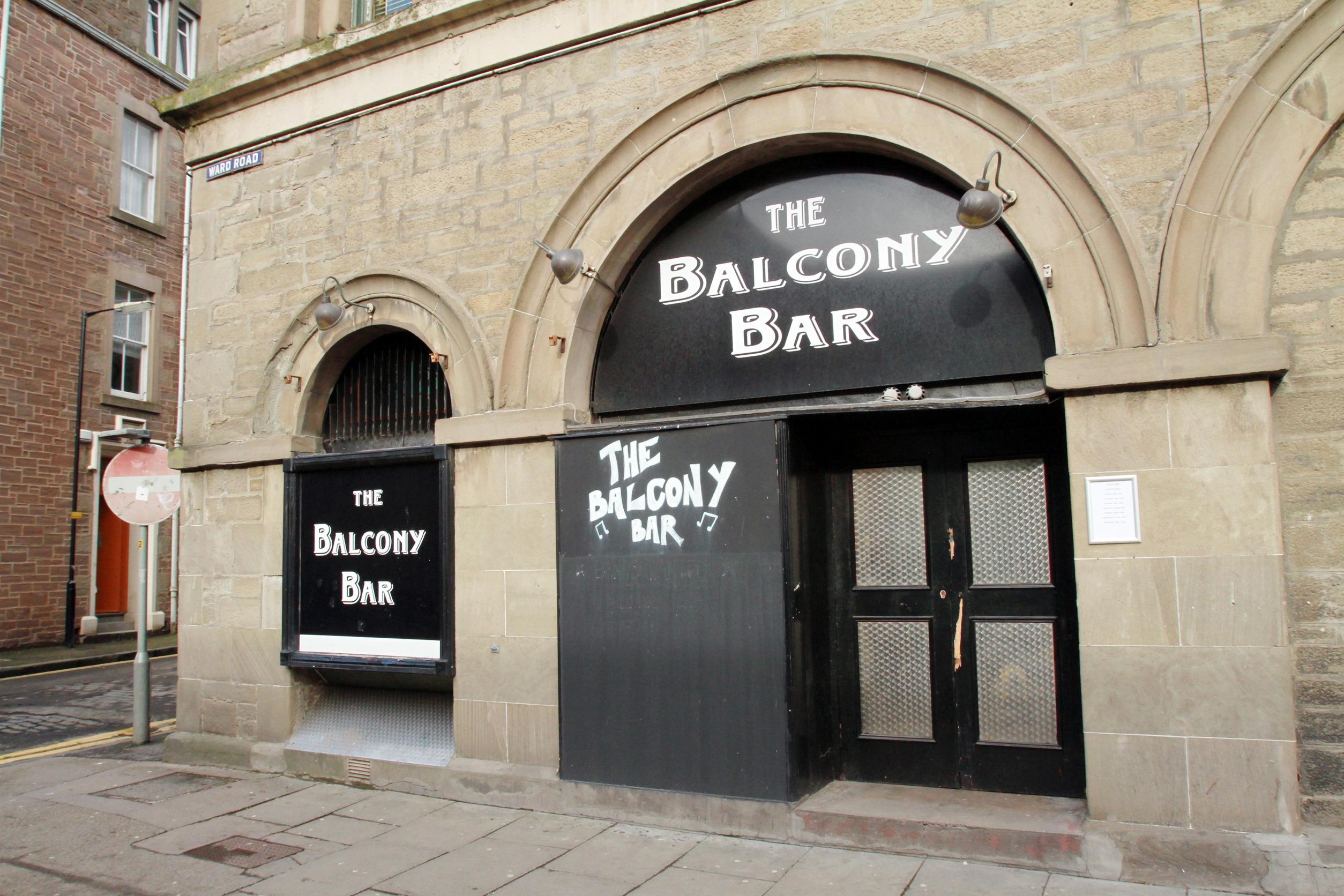 The Balcony Bar on Ward Road