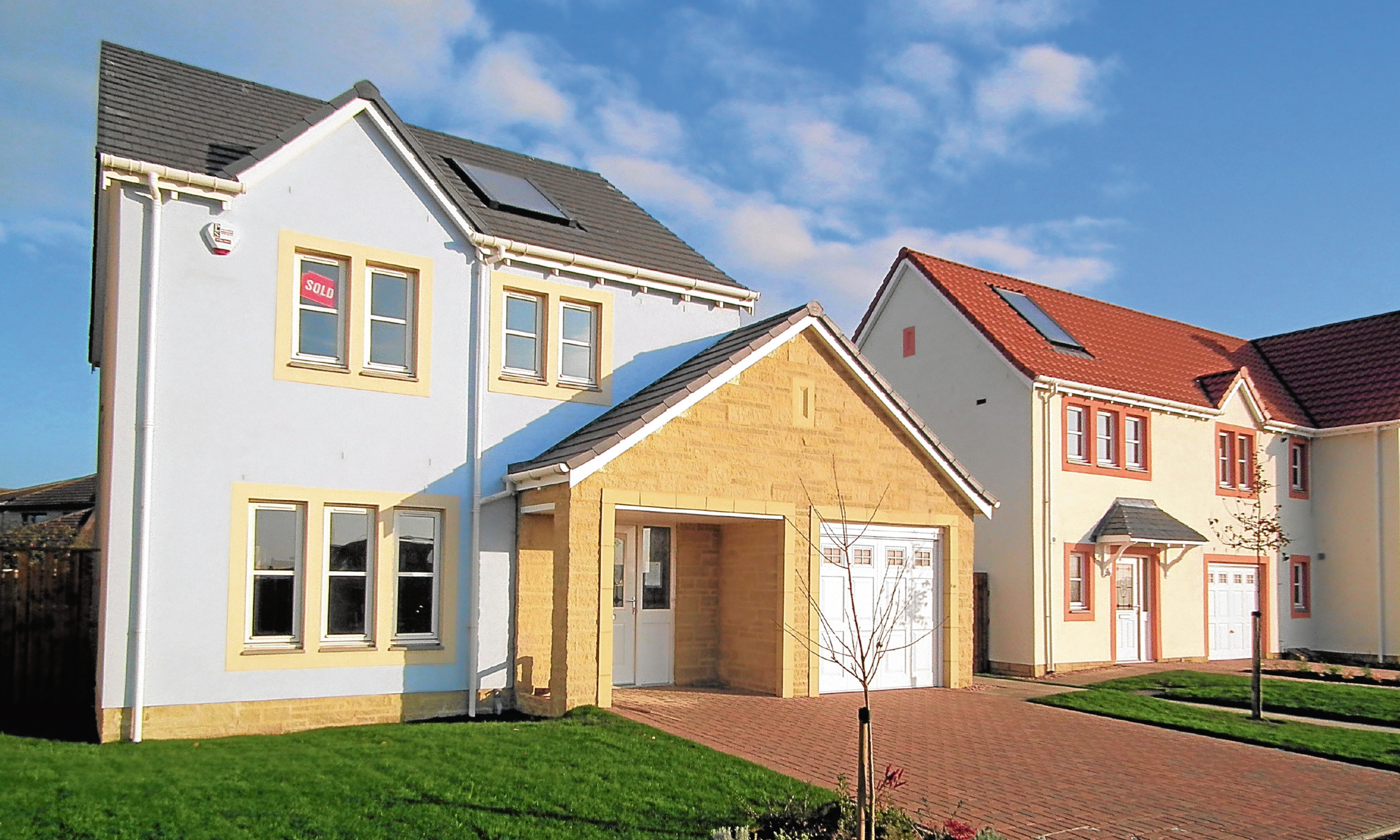 Muir Group homes at Silverdykes, Anstruther
