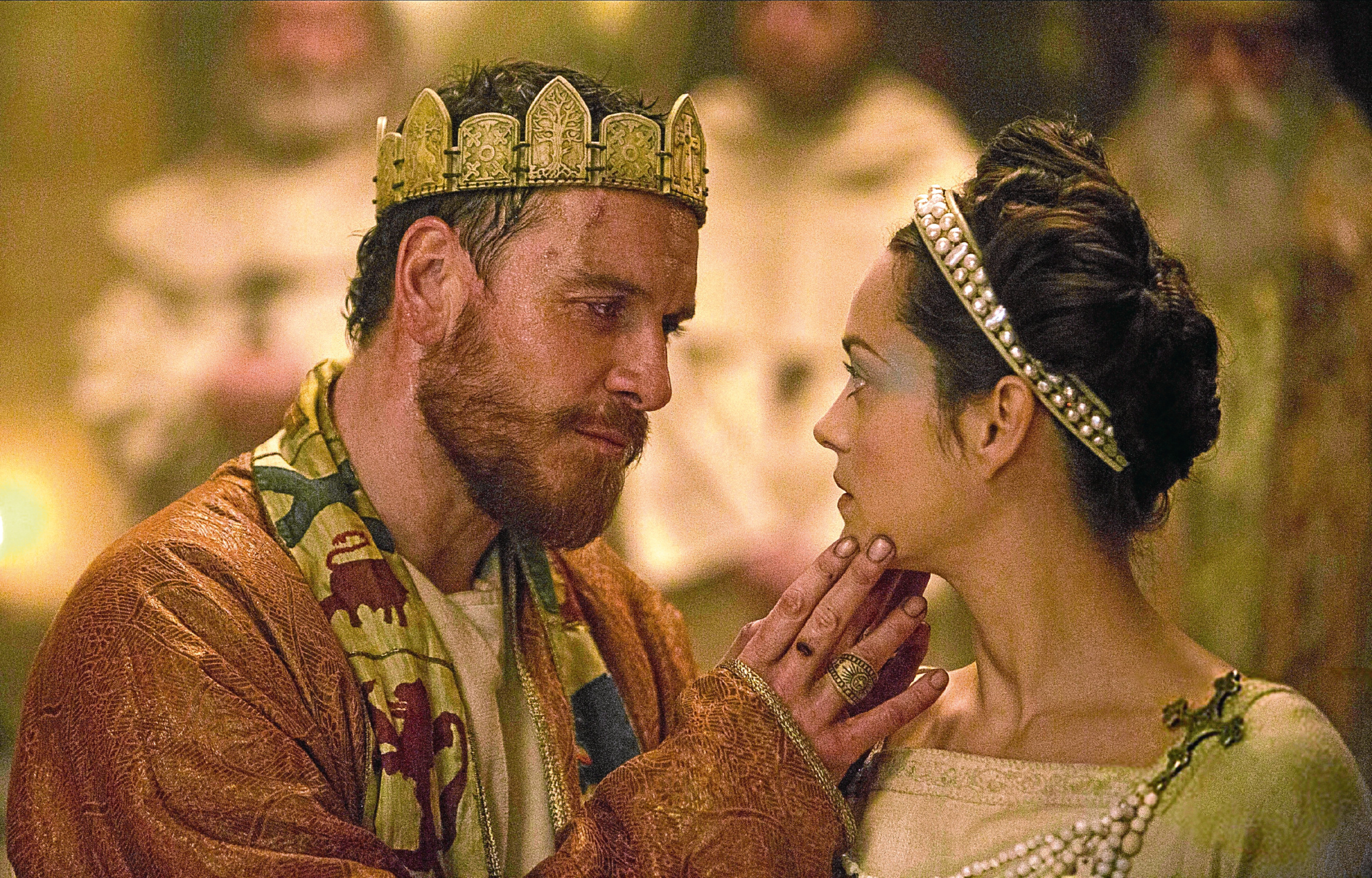 MICHAEL FASSBENDER & MARION COTILLARD Film 'MACBETH' (2015) Directed By JUSTIN KURZEL 23 May 2015 SAM51121 Allstar/THE WEINSTEIN COMPANY  (USA/UK/FR 2015)  **WARNING** This Photograph is for editorial use only and is the copyright of THE WEINSTEIN COMPANY  and/or the Photographer assigned by the Film or Production Company & can only be reproduced by publications in conjunction with the promotion of the above Film. A Mandatory Credit To THE WEINSTEIN COMPANY is required. The Photographer should also be credited when known. No commercial use can be granted without written authority from the Film Company.