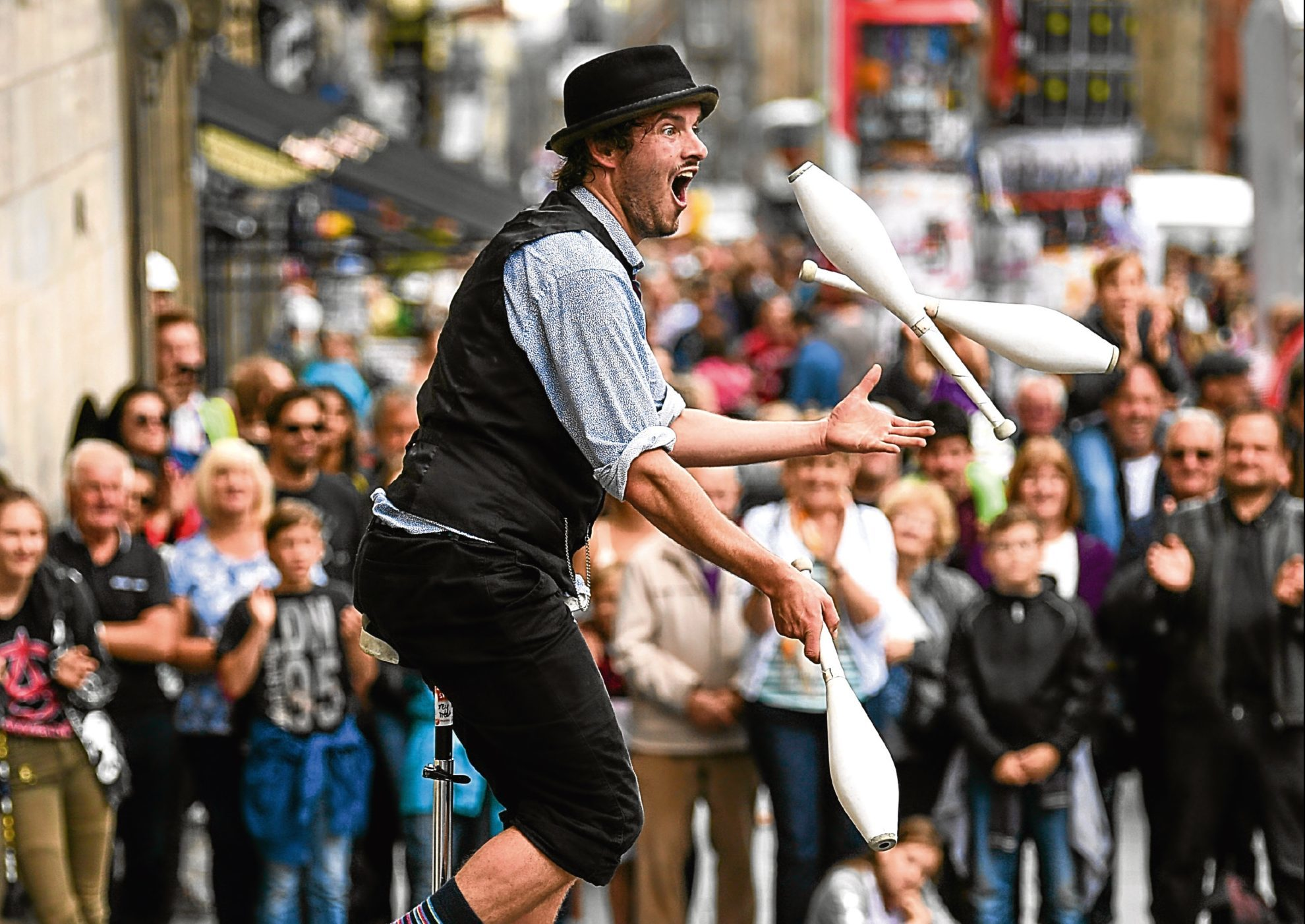 The Edinburgh Fringe Festival has returned.