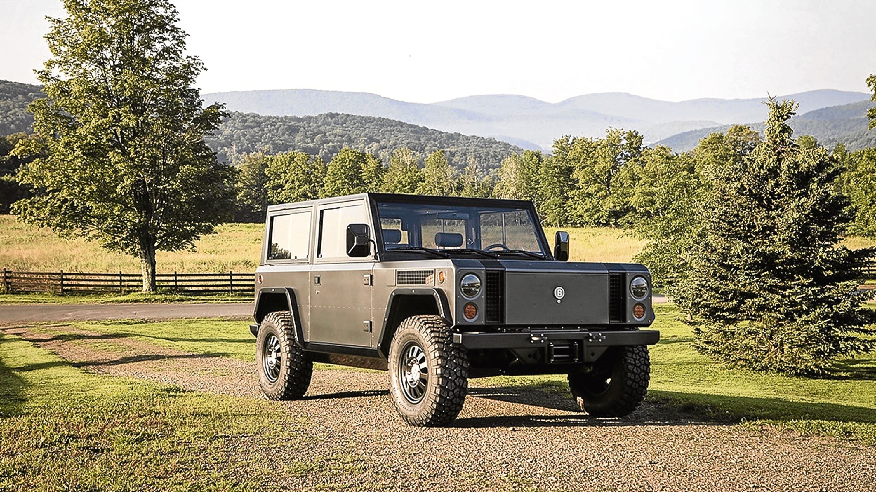 Undated Handout Photo of the Bollinger B1. See PA Feature MOTORING News. Picture credit should read: PA Photo/Bollinger Motors. WARNING: This picture must only be used to accompany PA Feature MOTORING News.