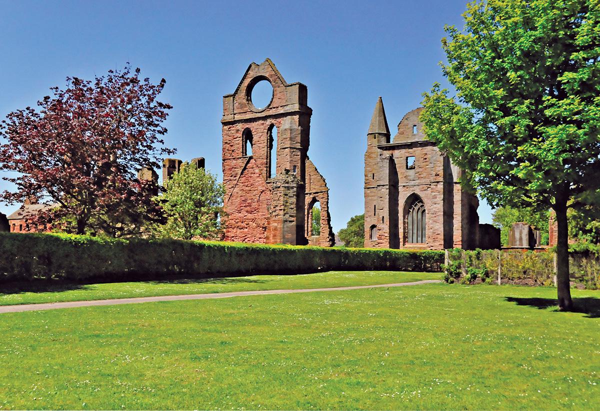 Arbroath Abbey.