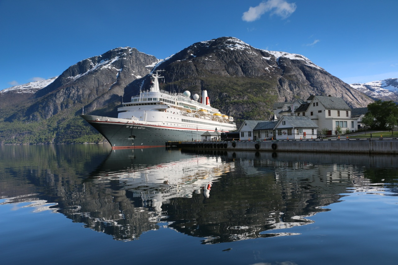 The Black Watch on a visit to Norway