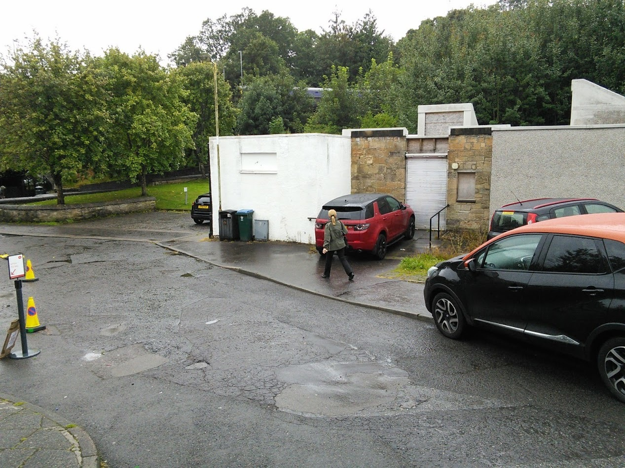 The Burnside toilets. The community would like to see them brought back into use.