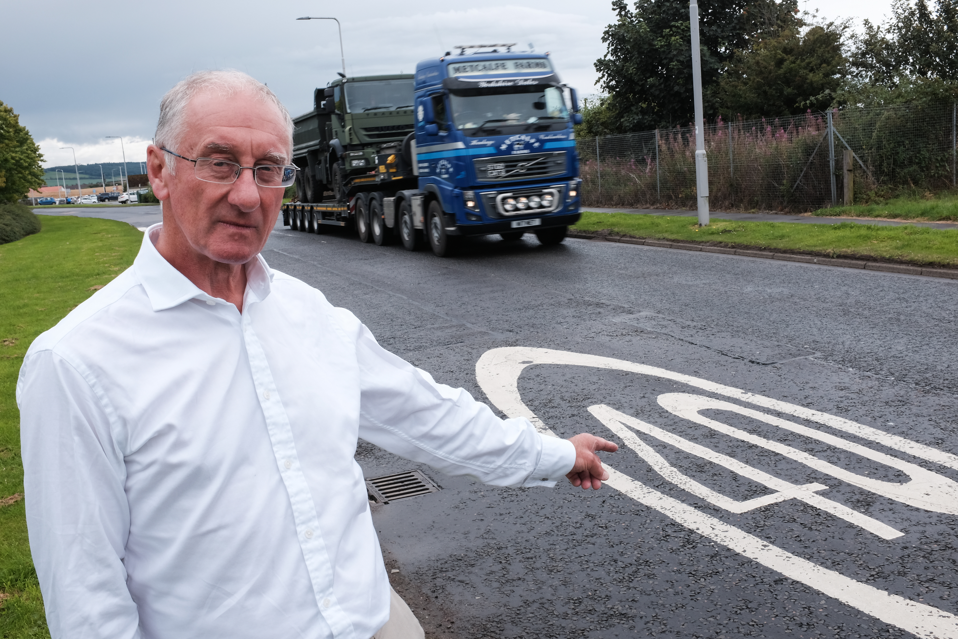 Councillor Bill Porteous wants to start a debate on reducing Fife's speed limit to 40mph.