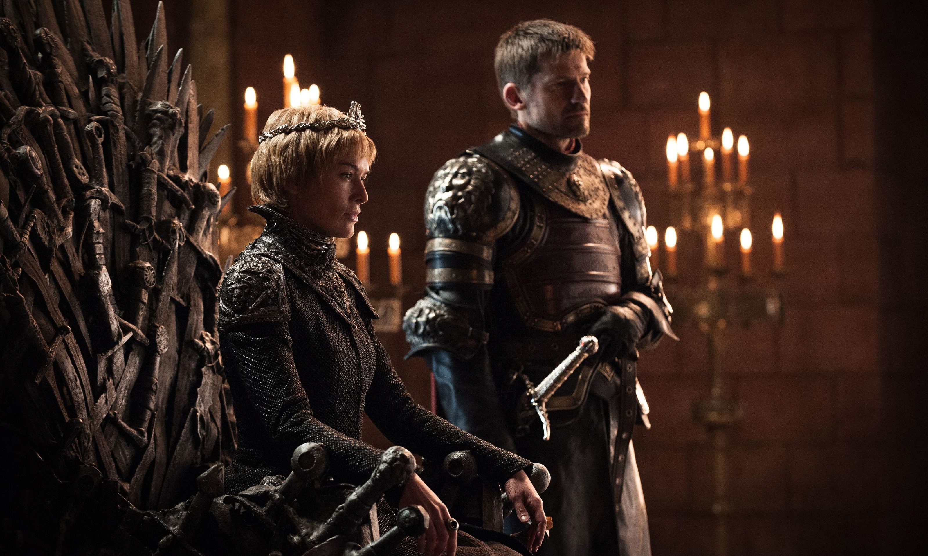 A scene from Game of Thrones,