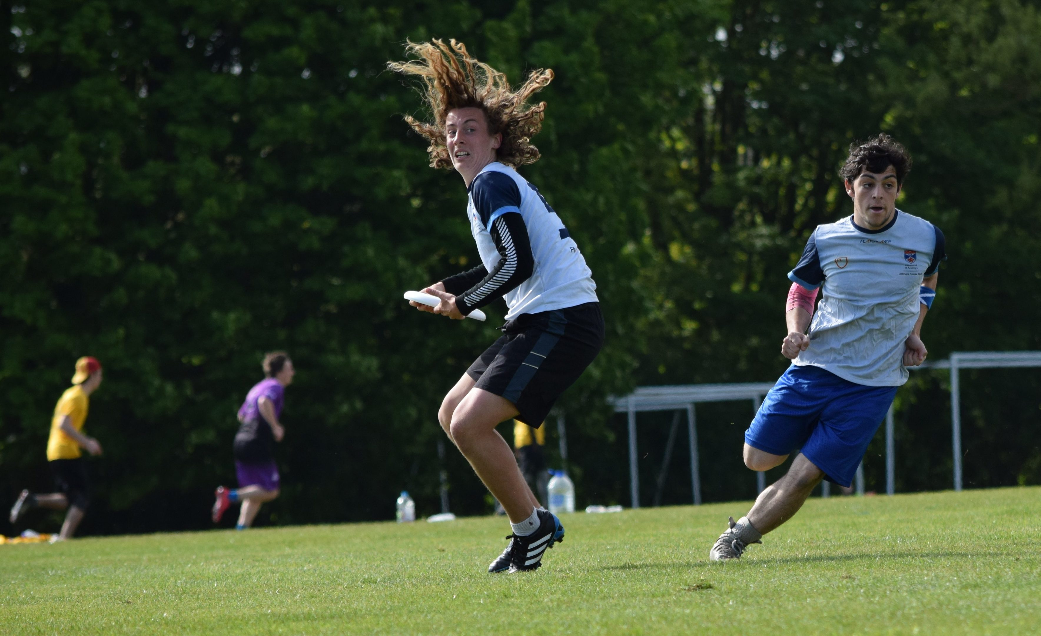 Lochlan Fischer is one of seven St Andrews University frisbee players selected to represent the country.