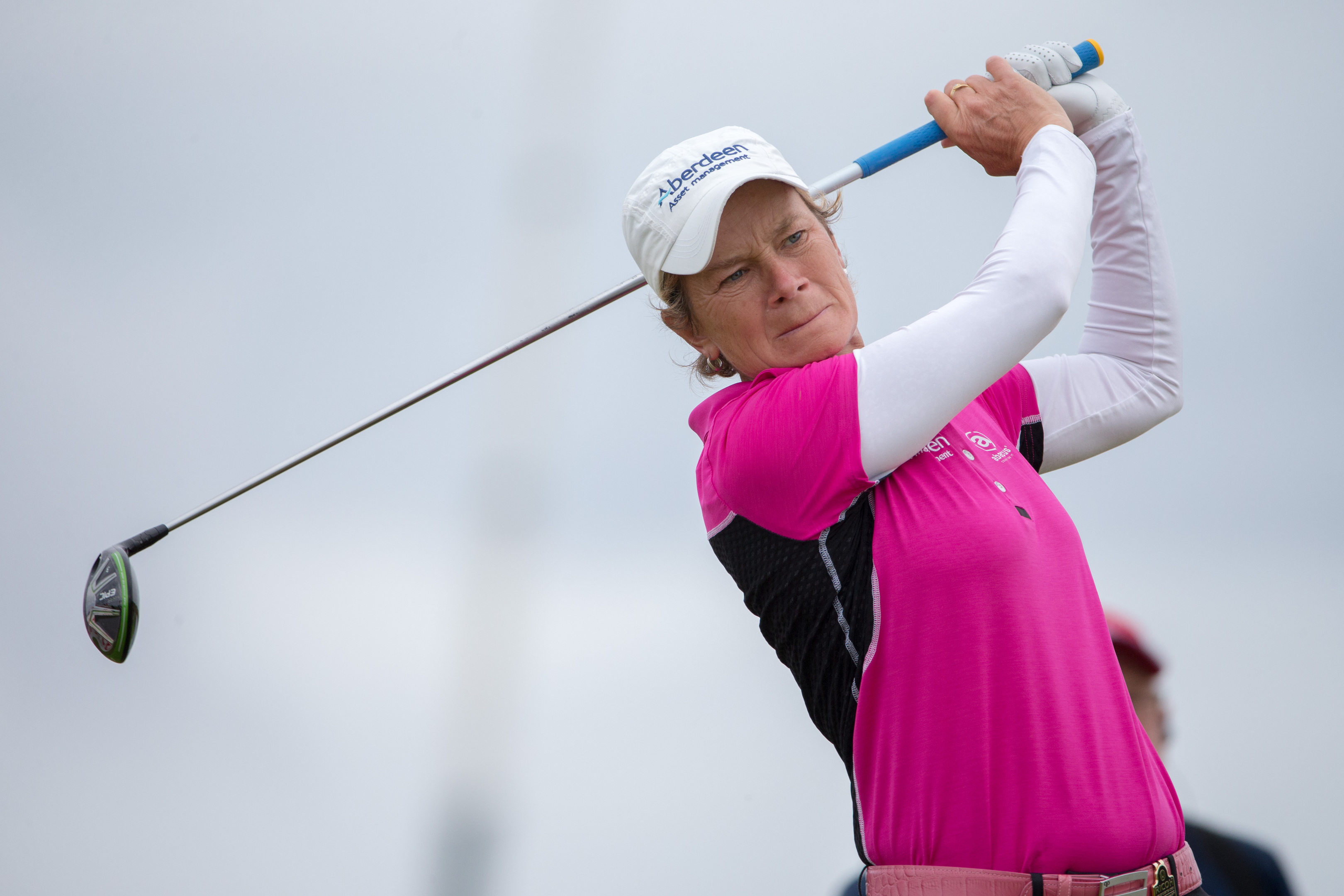 Catriona Matthew will play in her ninth Solheim Cup in Iowa this week.