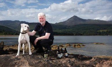 Gerald Michaluk at Loch Earn.